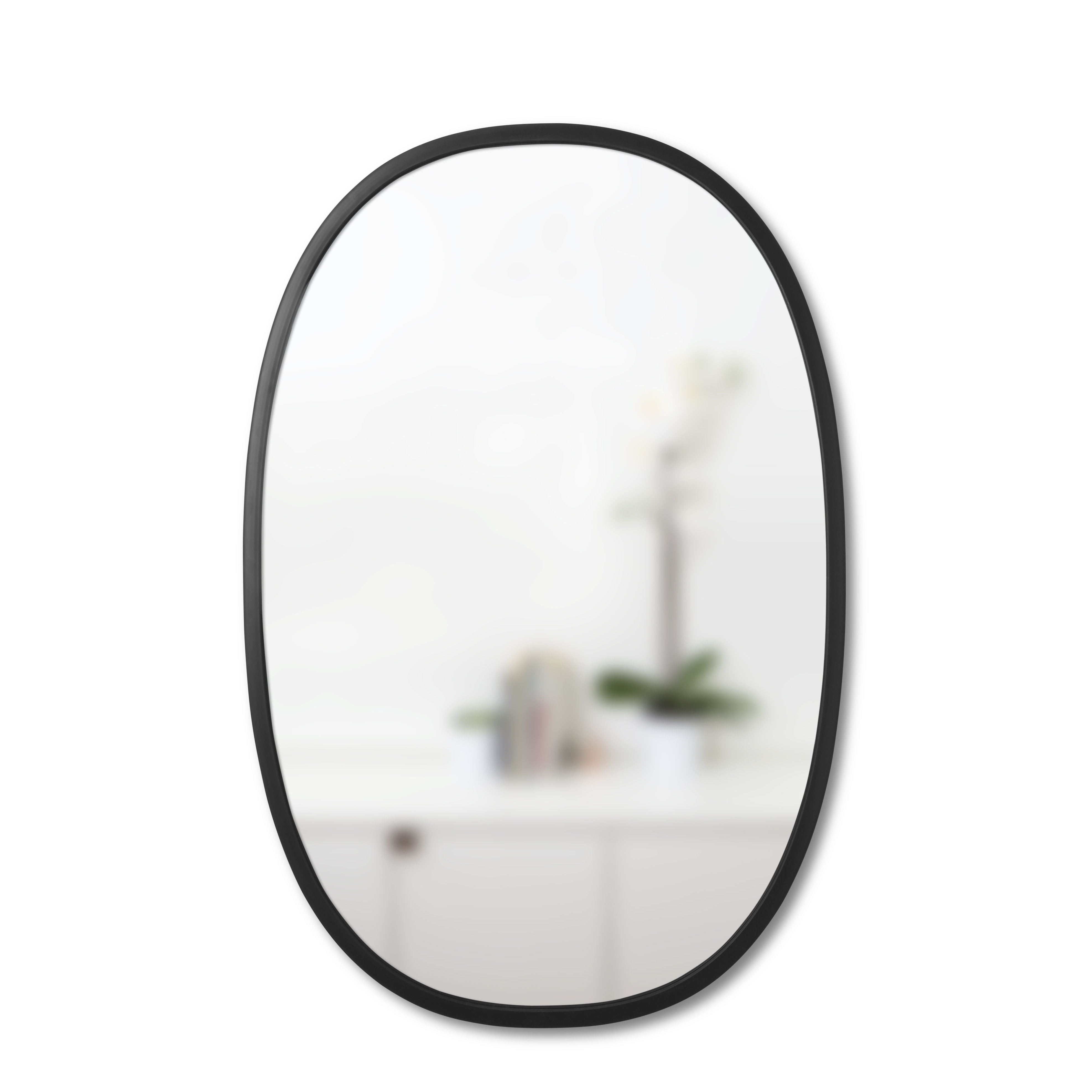 Umbra Hub Modern Contemporary Accent Mirror In Menachem Modern & Contemporary Accent Mirrors (Image 30 of 30)