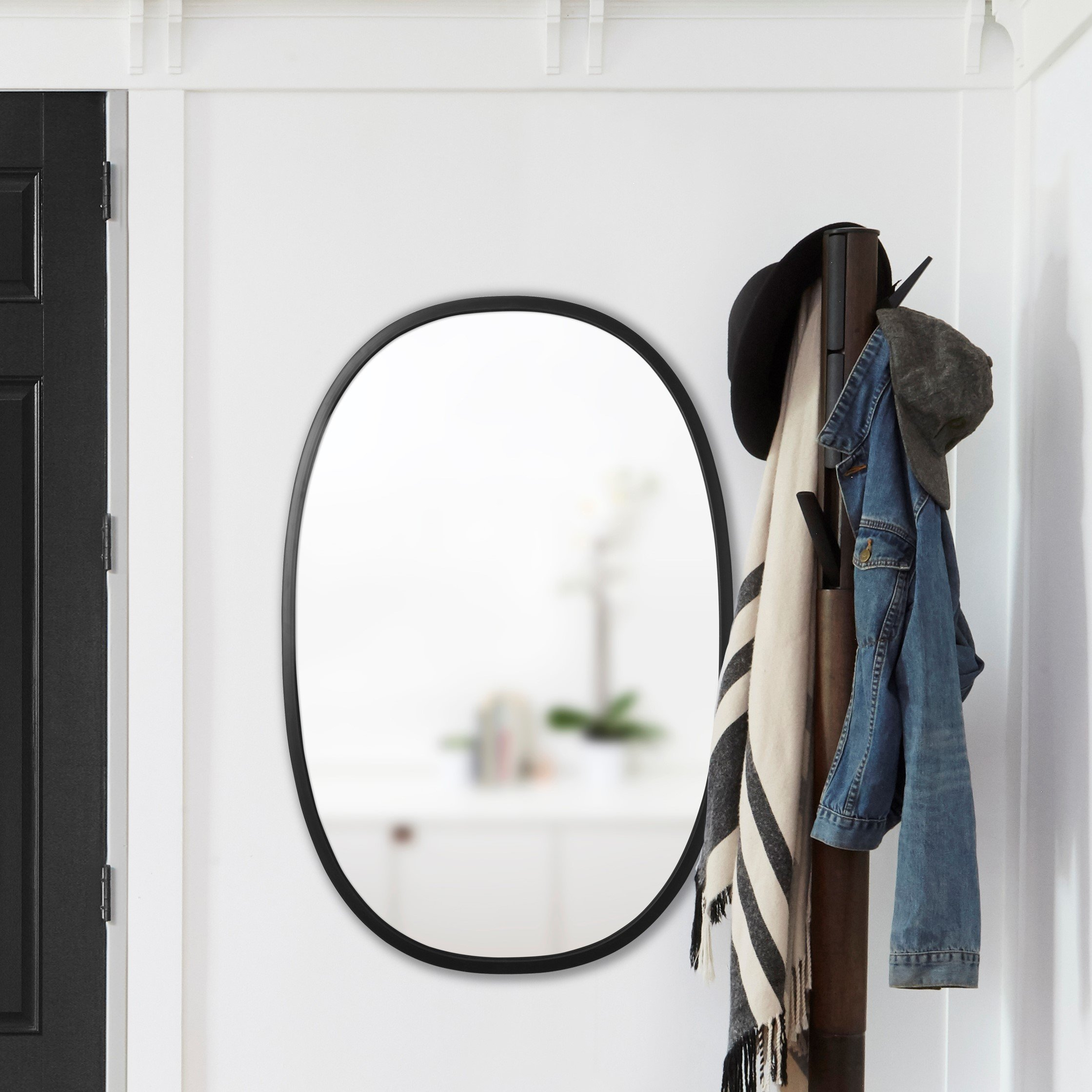 Umbra Hub Modern & Contemporary Accent Mirror inside Hub Modern and Contemporary Accent Mirrors (Image 24 of 30)