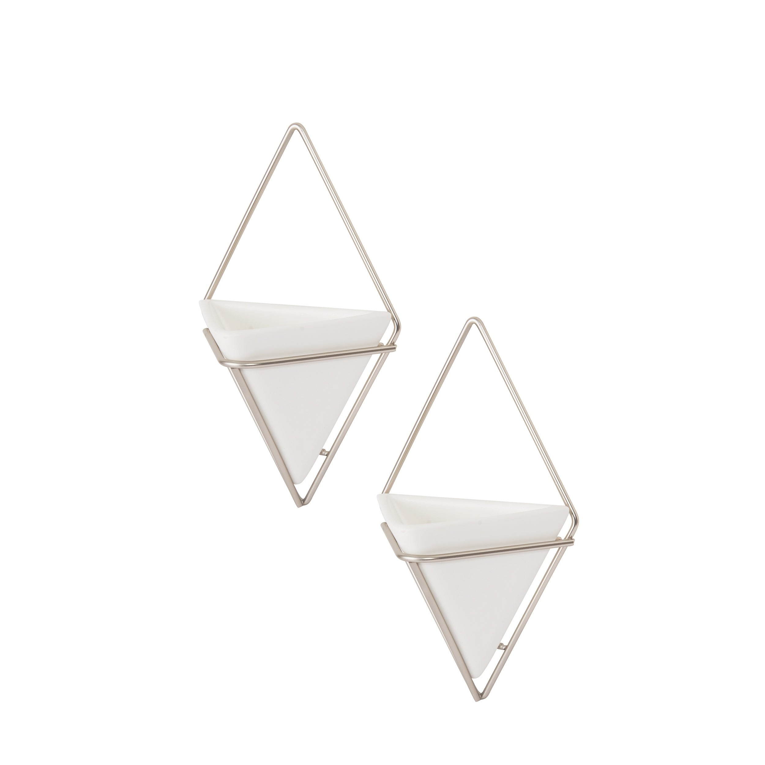 Umbra Trigg Hanging Planter & Wall Decor (Set Of 2) with regard to 2 Piece Trigg Wall Decor Sets (Set of 2) (Image 25 of 30)