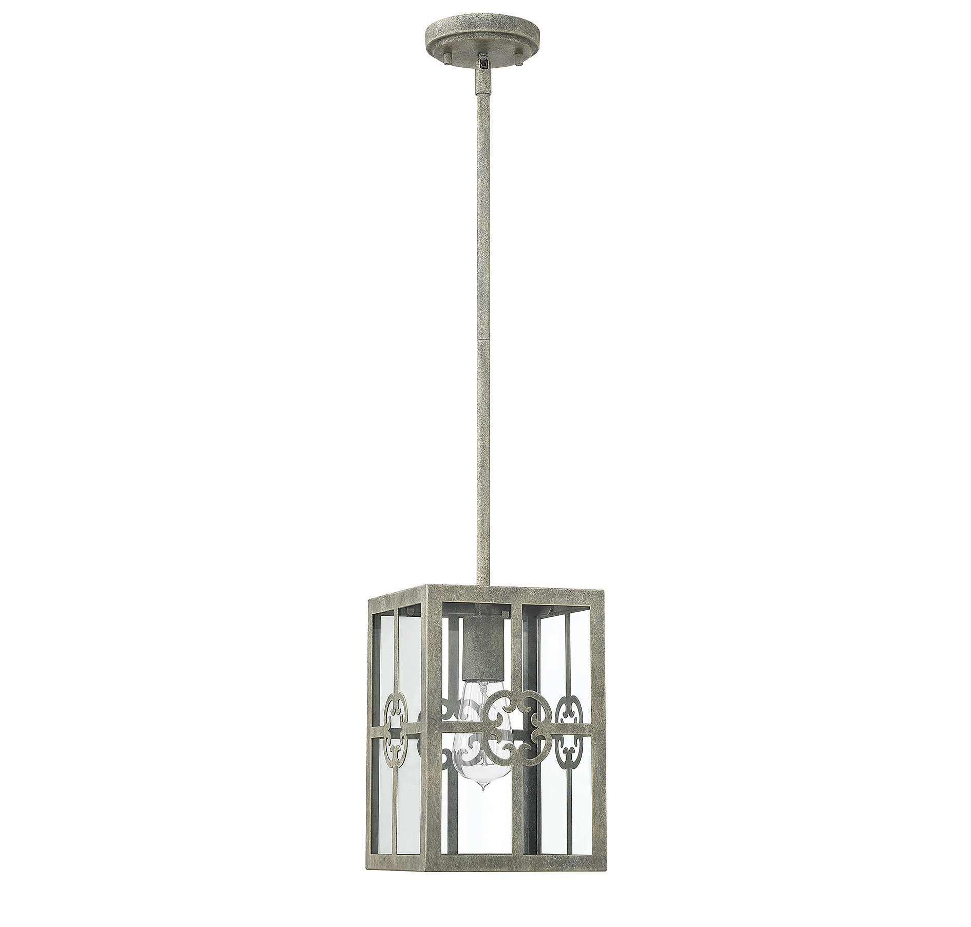 Unger 1 Light Square/rectangle Pendant Throughout Bellamira 1 Light Drum Pendants (View 13 of 30)