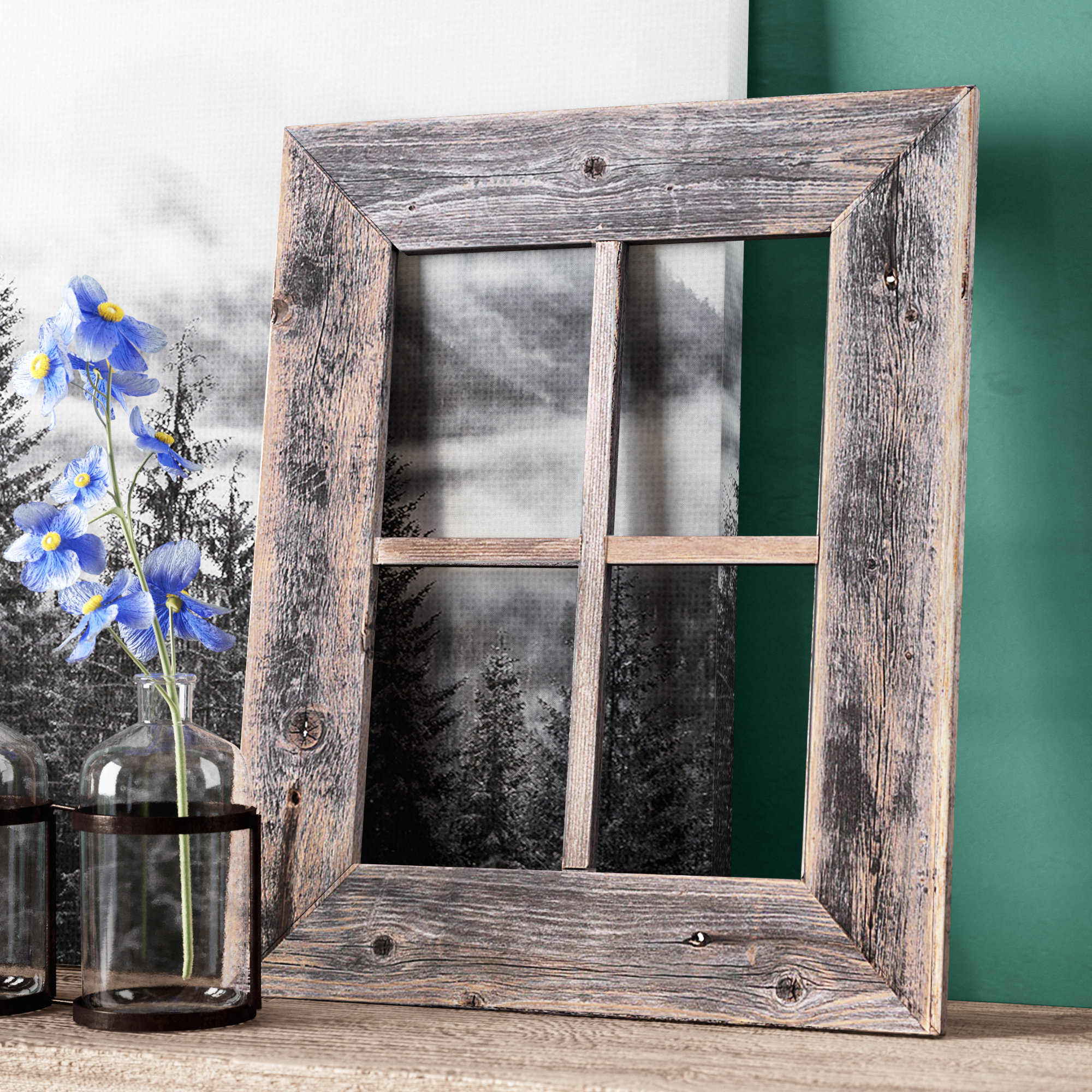 Featured Photo of Old Rustic Barn Window Frame