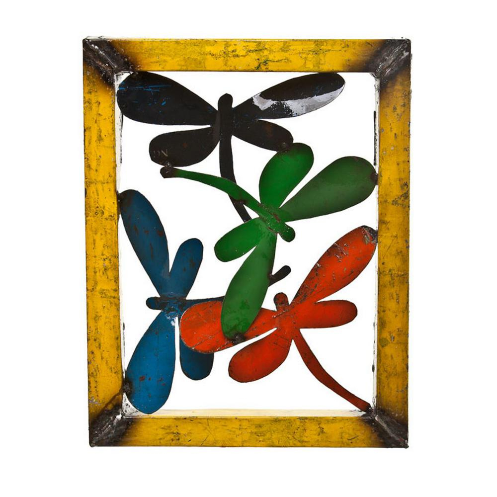 Upcycled Emporium Small Dragonfly Wall Decor With Dragonfly Wall Decor (View 9 of 30)