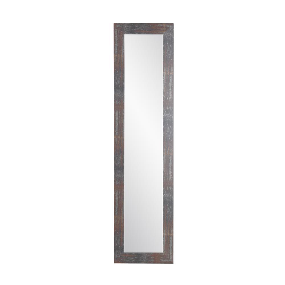 Urban Industrial Loft Slim Full Length Mirror With Regard To Industrial Full Length Mirrors (View 28 of 30)