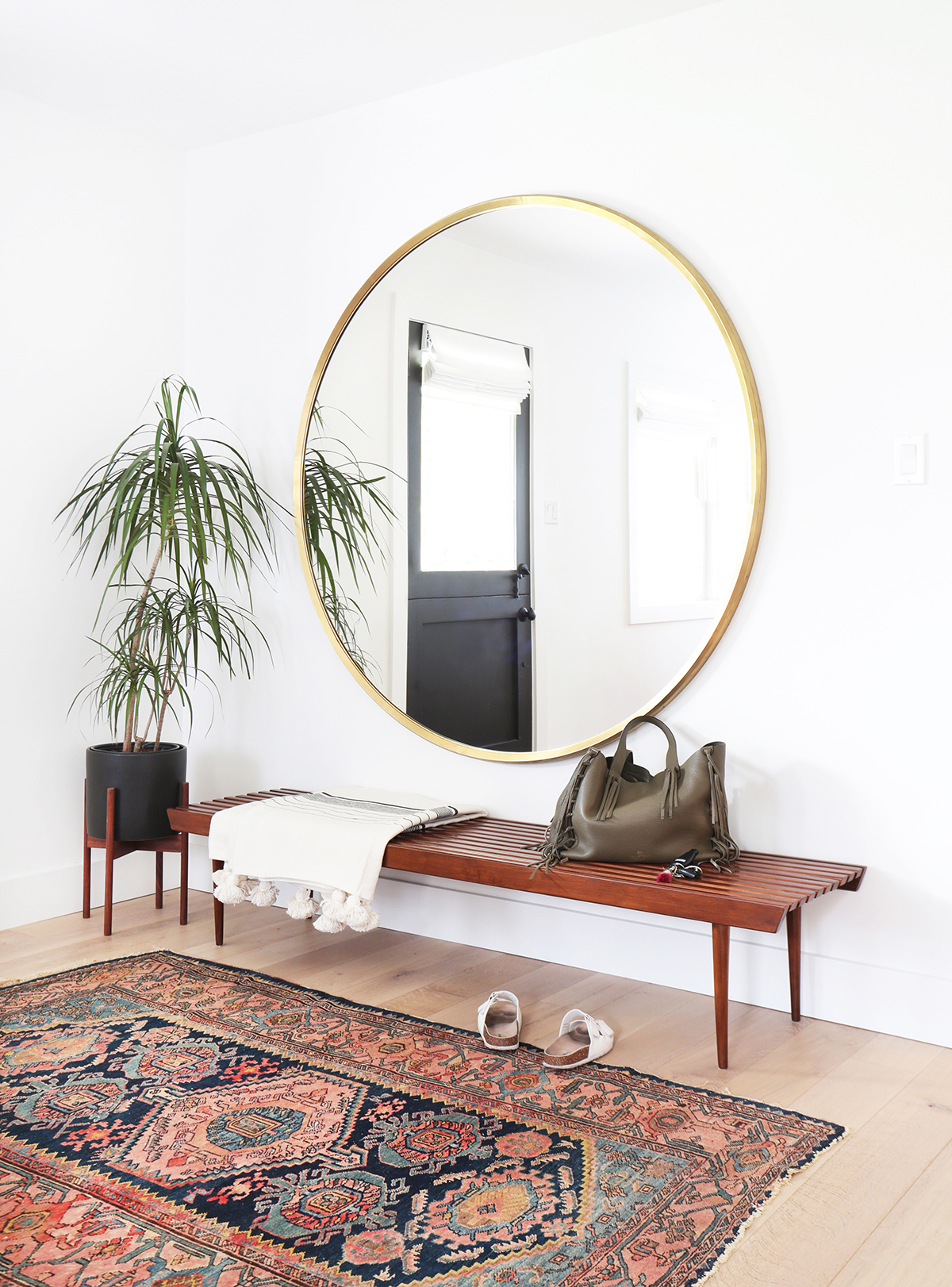 Use Round Mirrors To Complete Any Room In Your Home | Kathy Within Round Eclectic Accent Mirrors (View 20 of 30)