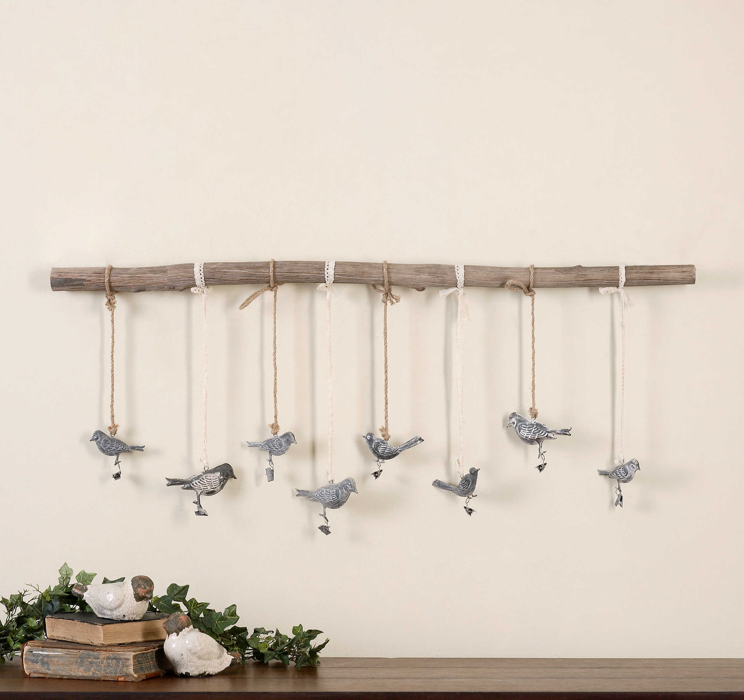 Uttermost Birds On A Branch Wall Art With Regard To Birds On A Branch Wall Decor (View 2 of 30)