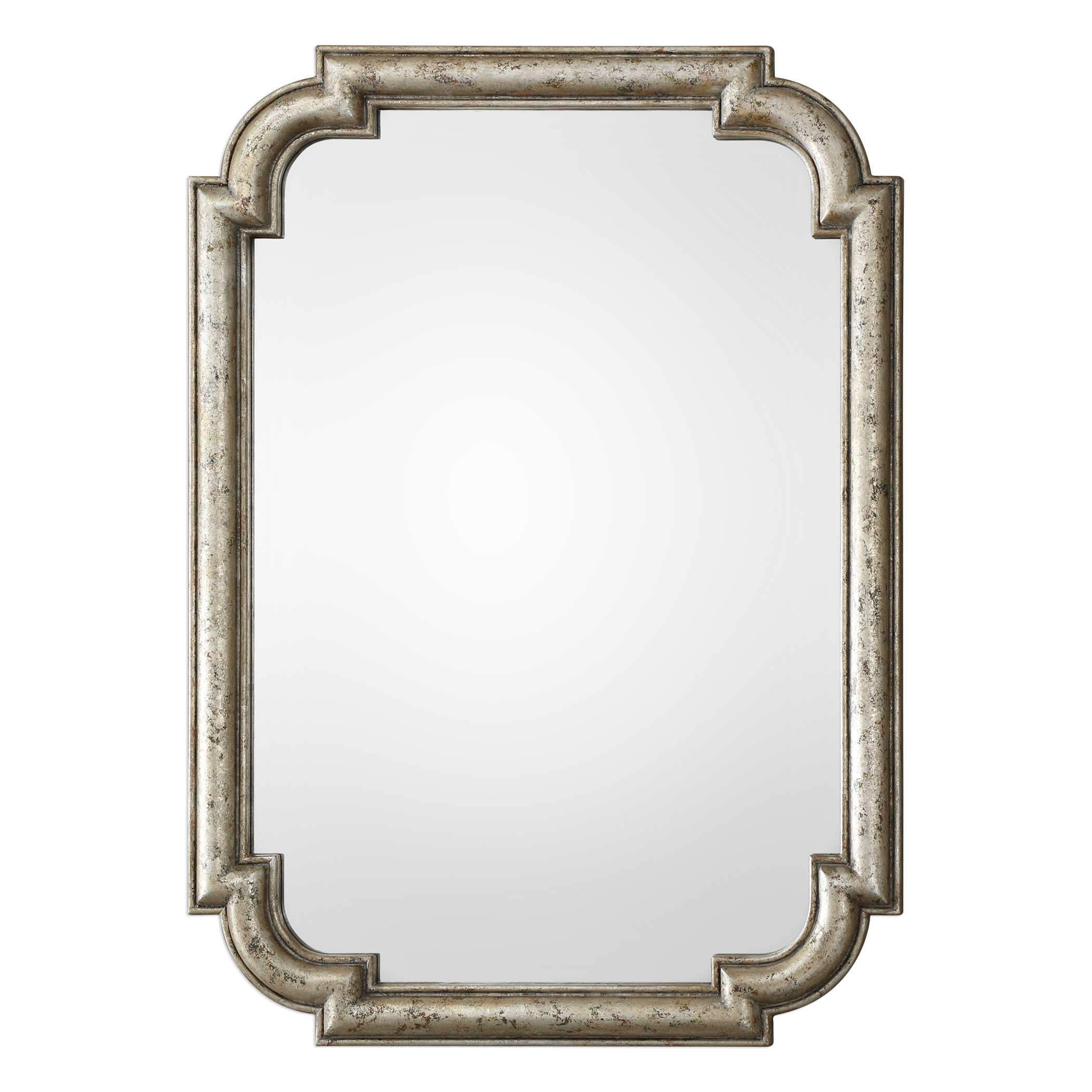 Uttermost Calanna Antique Silver Mirror In 2019 | Products Within Traditional Metal Wall Mirrors (View 9 of 30)