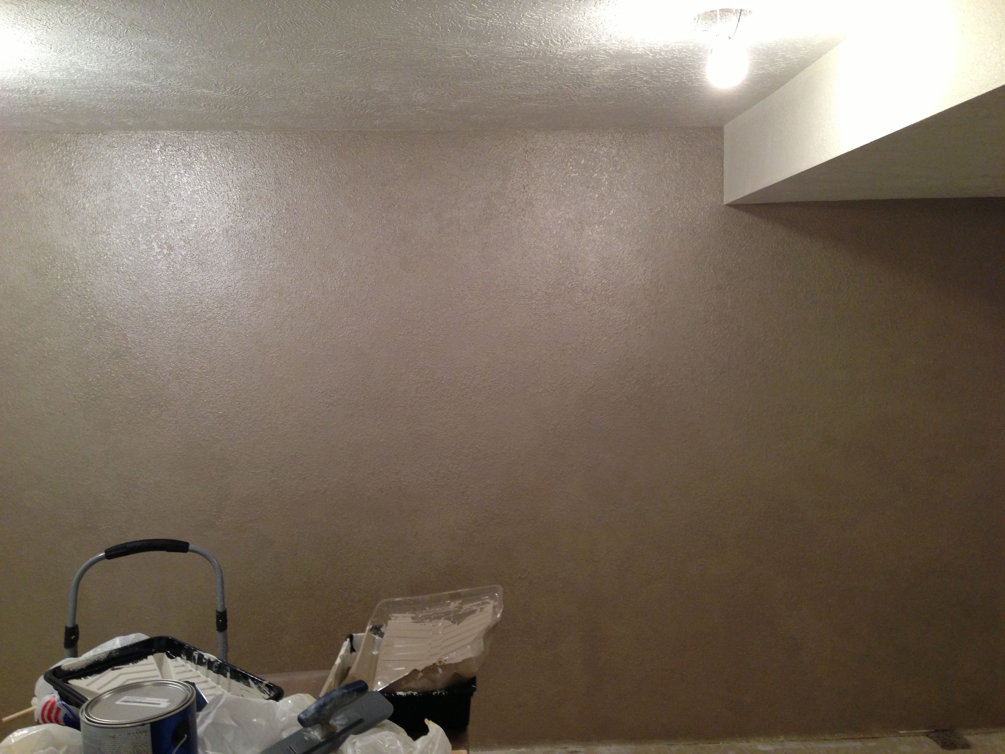 Valspar Brushed Pearl Sponged On Knock Down Texture (View 8 of 30)