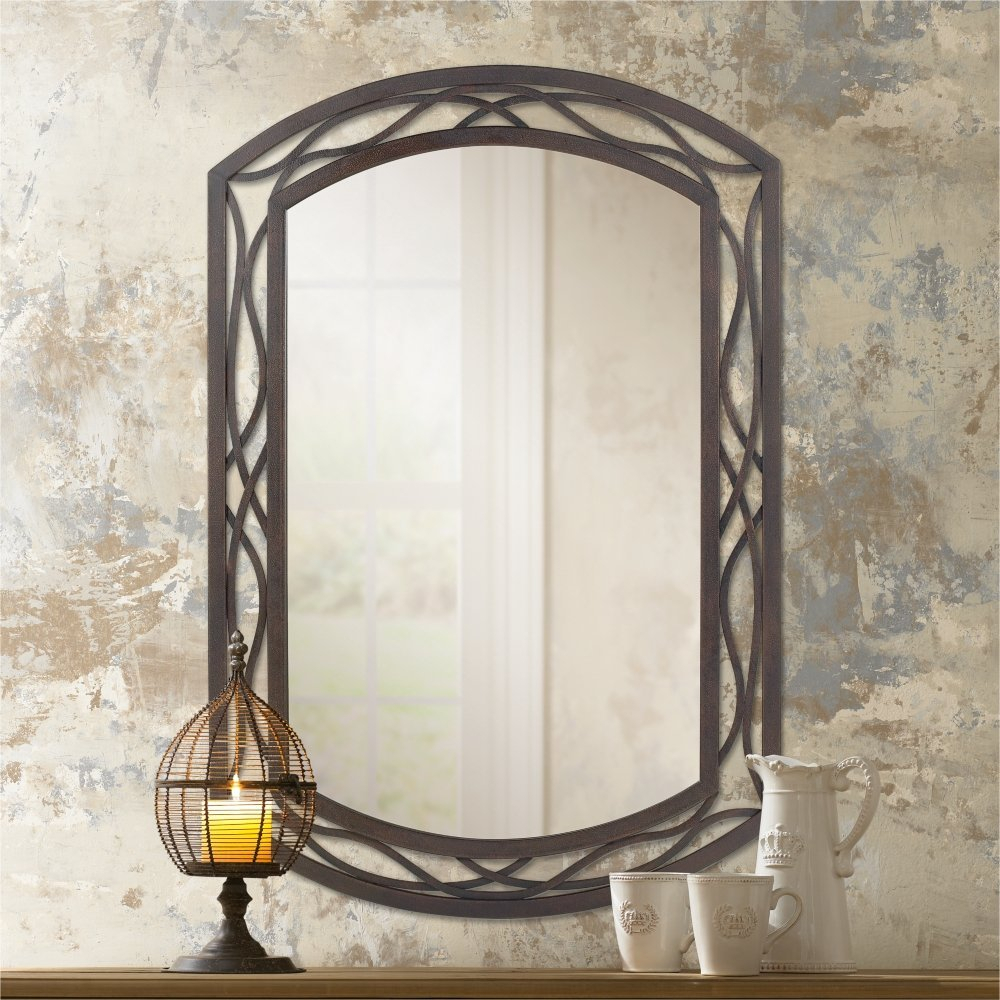 Valuable Design Metal Wall Mirror Plus Rectangle Decorative For Traditional Metal Wall Mirrors (View 12 of 30)