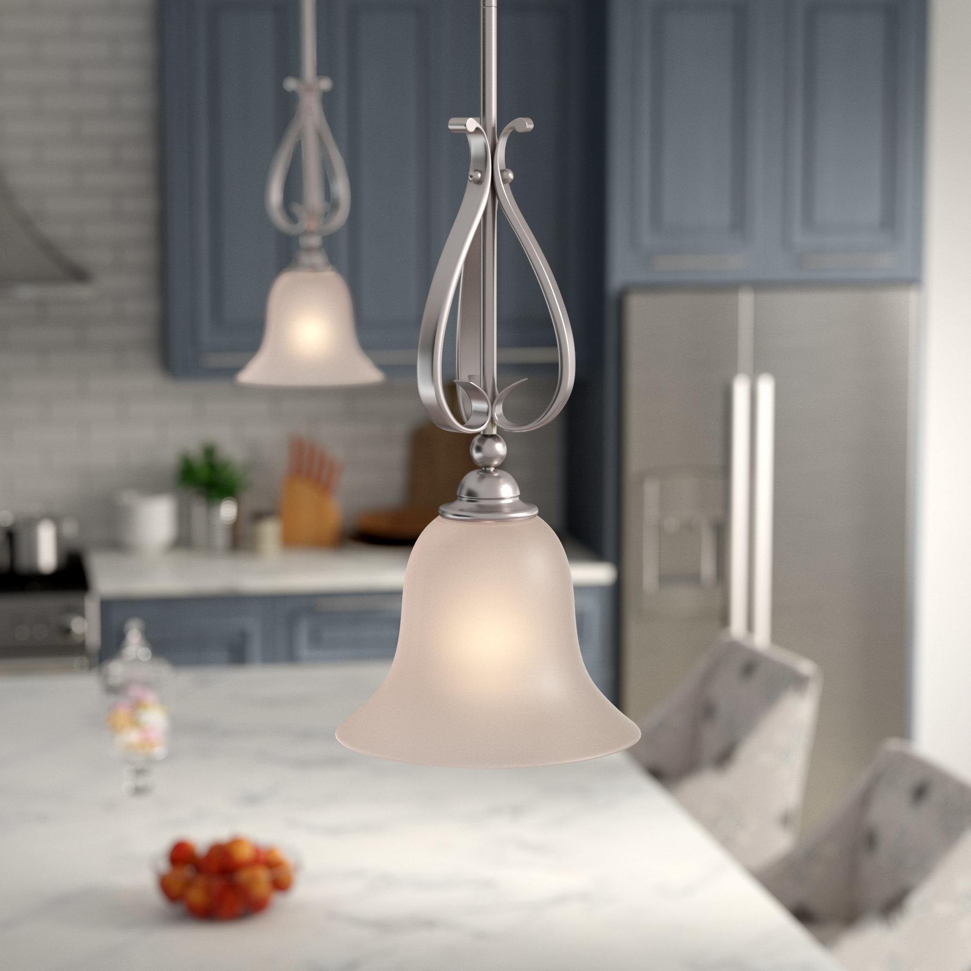 Van Horne 1 Light Cone Pendant For Grullon Scroll 1 Light Single Bell Pendants (View 22 of 30)