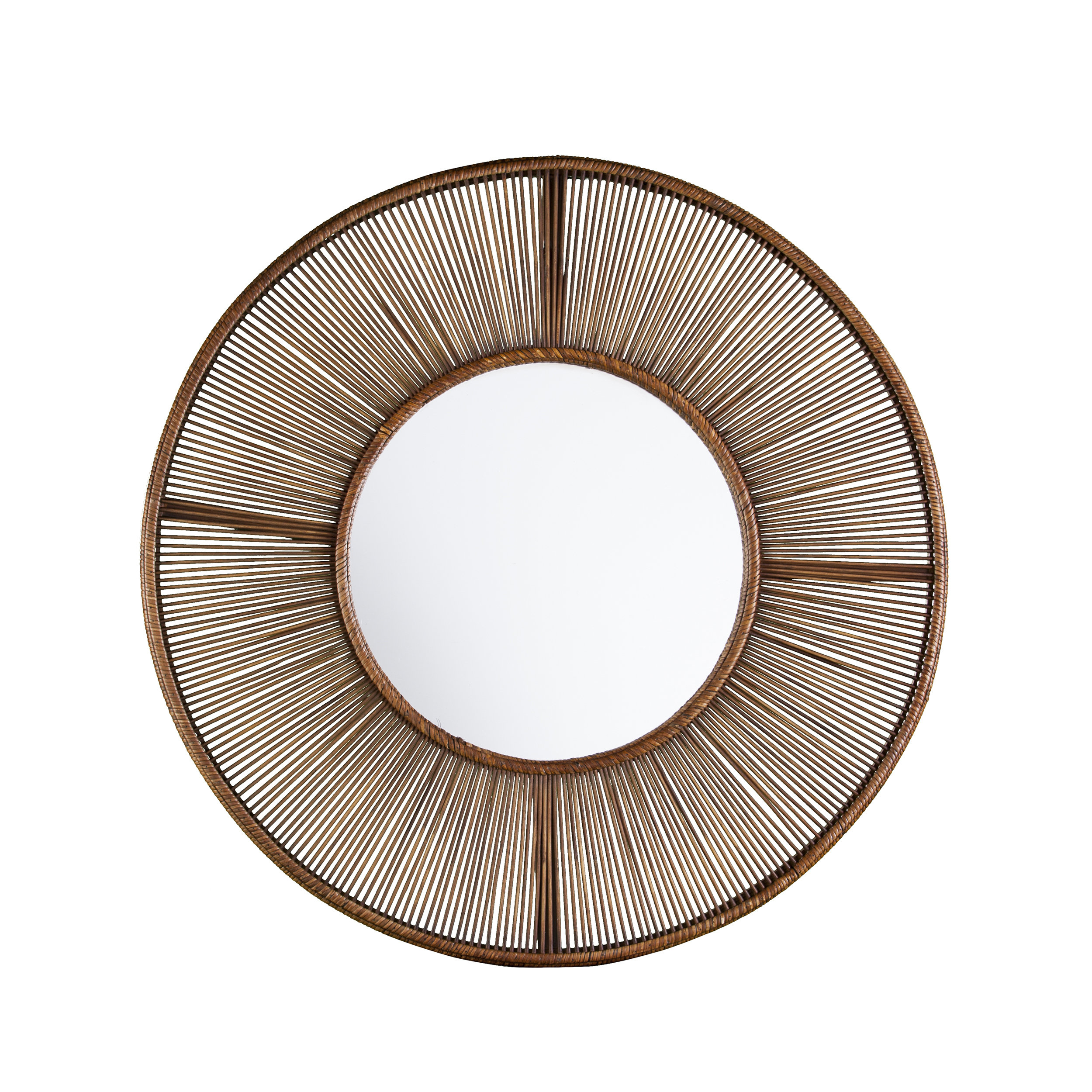 Vanburen Oversized Decorative Accent Mirror in Jarrod Sunburst Accent Mirrors (Image 29 of 30)