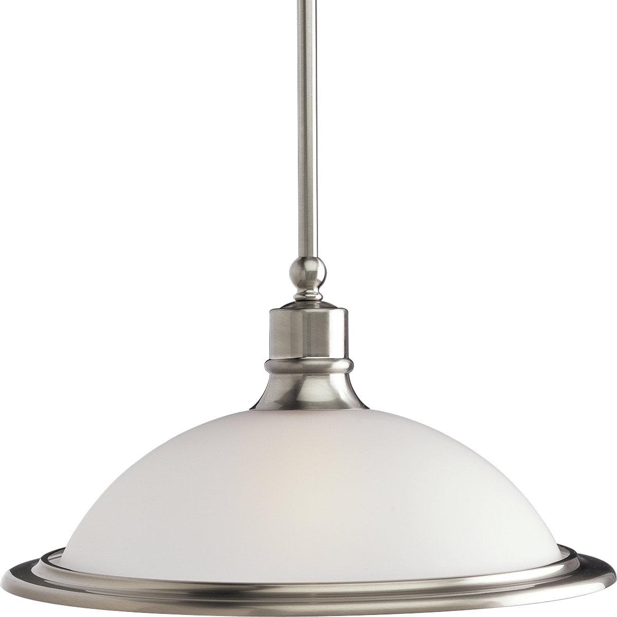 Vangorder 1-Light Dome Pendant pertaining to Abernathy 1-Light Dome Pendants (Image 28 of 30)