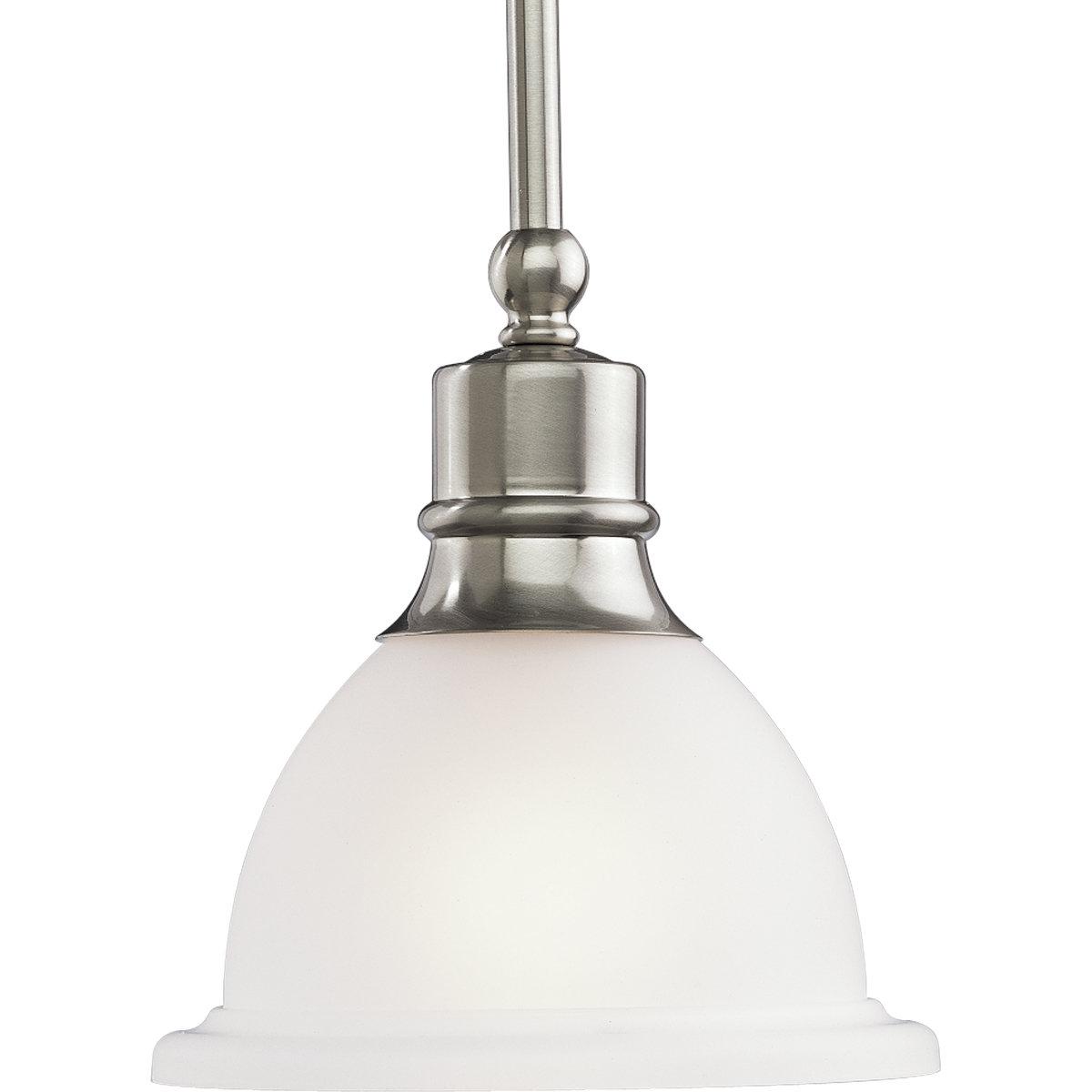 Vangorder 1-Light Single Bell Pendant within Abernathy 1-Light Dome Pendants (Image 29 of 30)