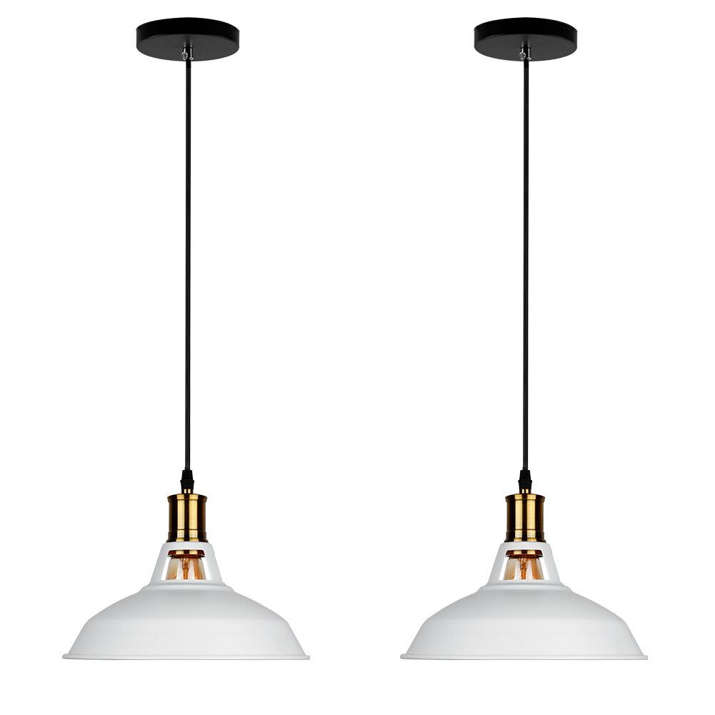 Vanwormer 1-Light Single Dome Pendant throughout Akakios 1-Light Single Bell Pendants (Image 29 of 30)