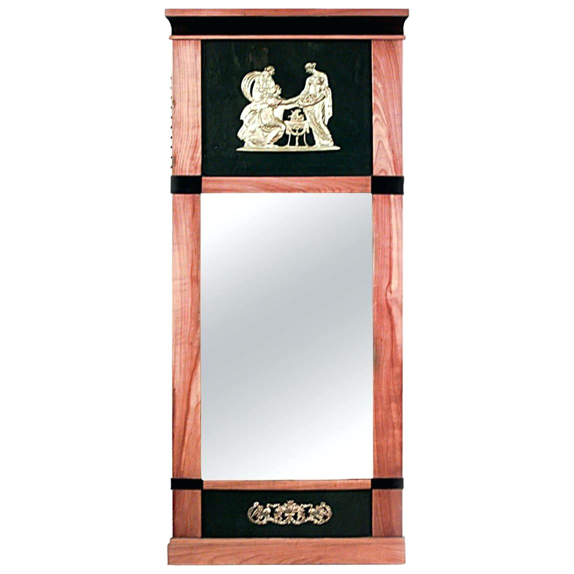 Vertical Wall Mirror Arch Top Vertical Wall Mirror Orren pertaining to Pennsburg Rectangle Wall Mirrors (Image 26 of 30)