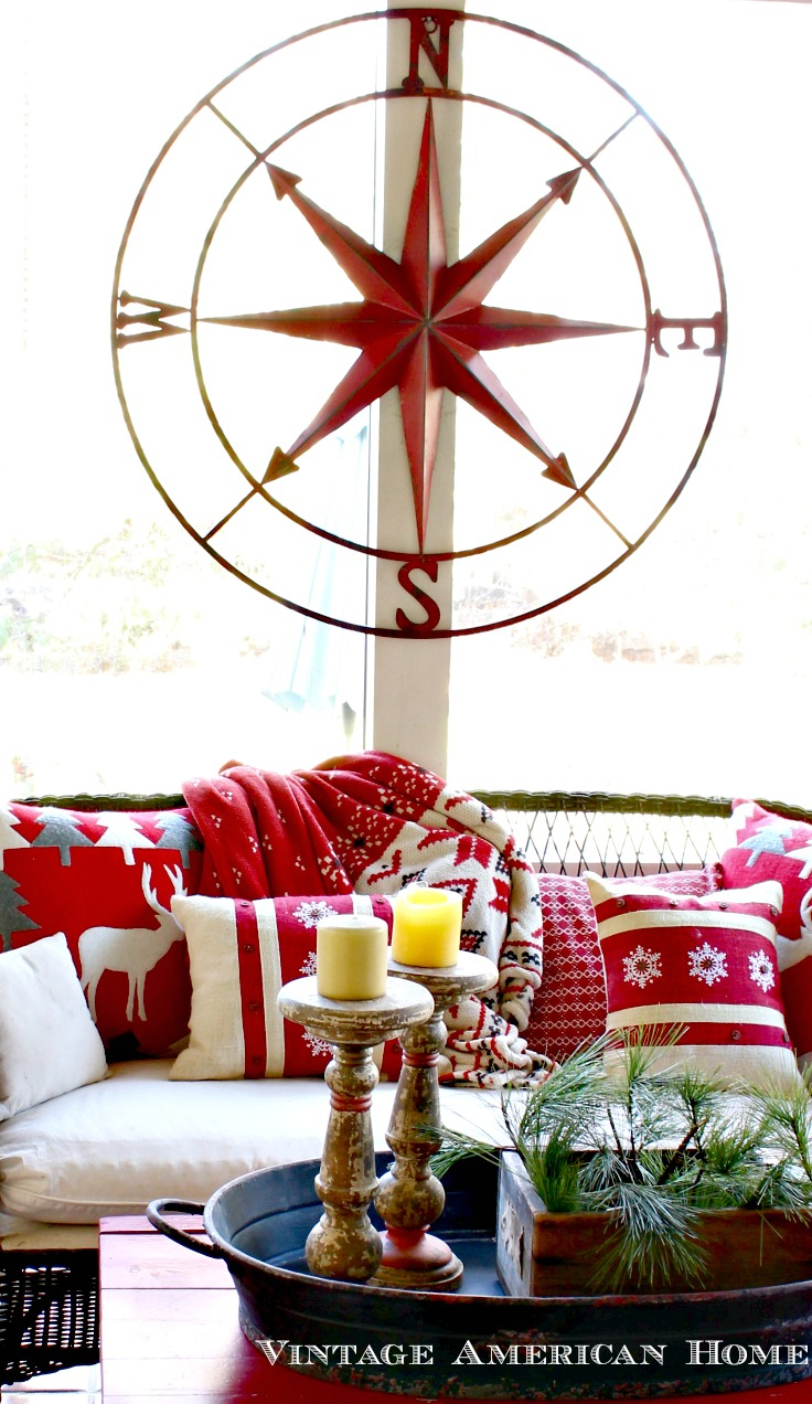 "Very Large Round Metal Compass Rose- 41"" regarding Round Compass Wall Decor (Image 30 of 30)"