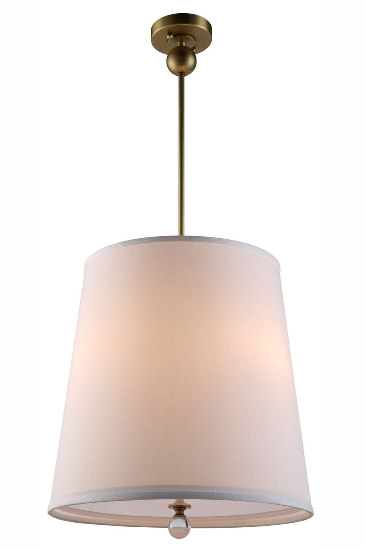 Vicenta 3 Light Cone Pendant Inside Friedland 3 Light Drum Tiered Pendants (View 10 of 30)