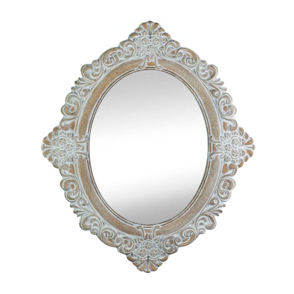 Vintage Amelia Taupe Mirror (Accent Plus) With Medallion Accent Mirrors (View 29 of 30)