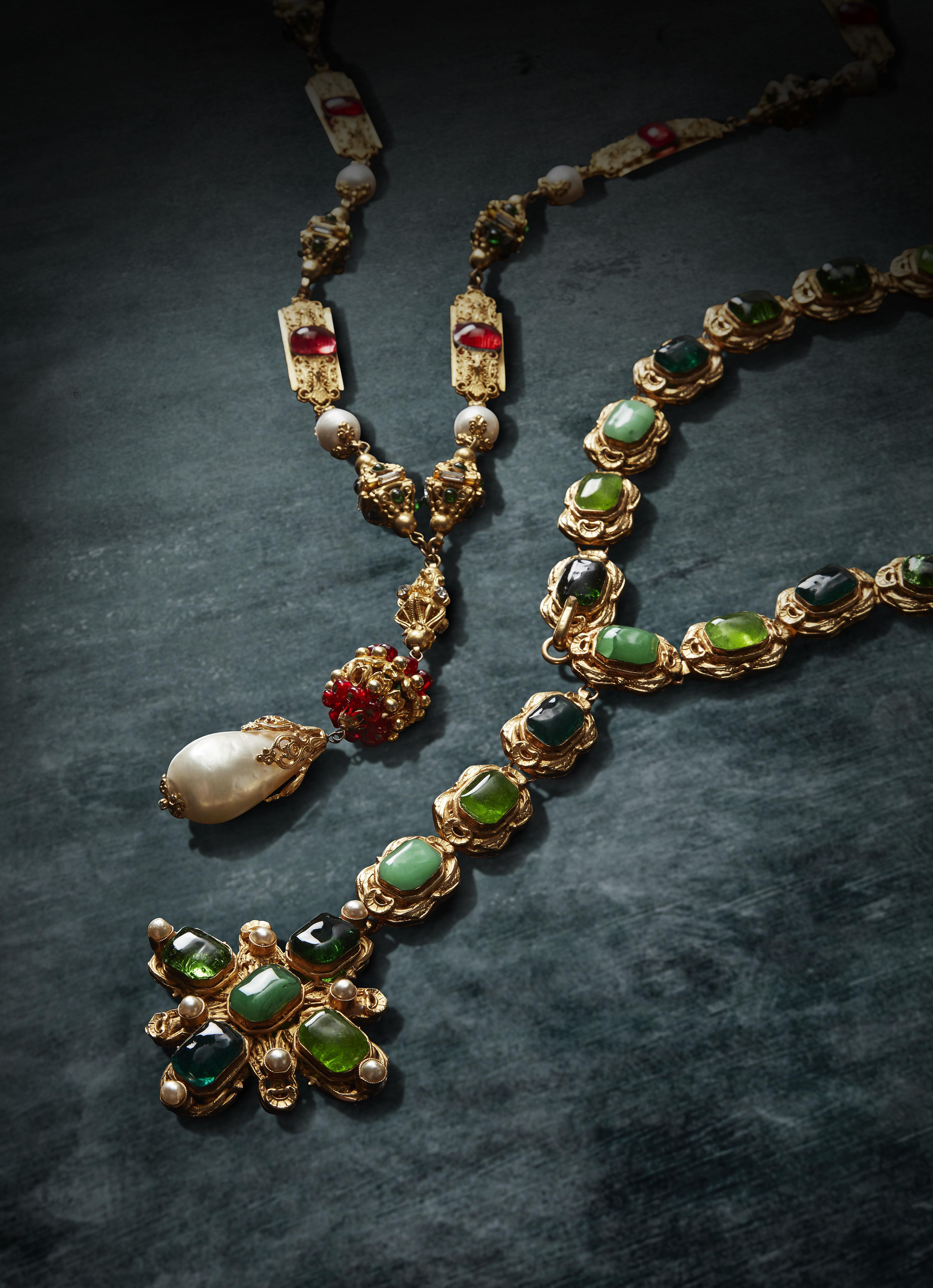 Vintage Chanel Jewellery And Handbags Form Part Of 'nobel Pertaining To Akash Industrial Vintage 1 Light Geometric Pendants (Image 27 of 30)