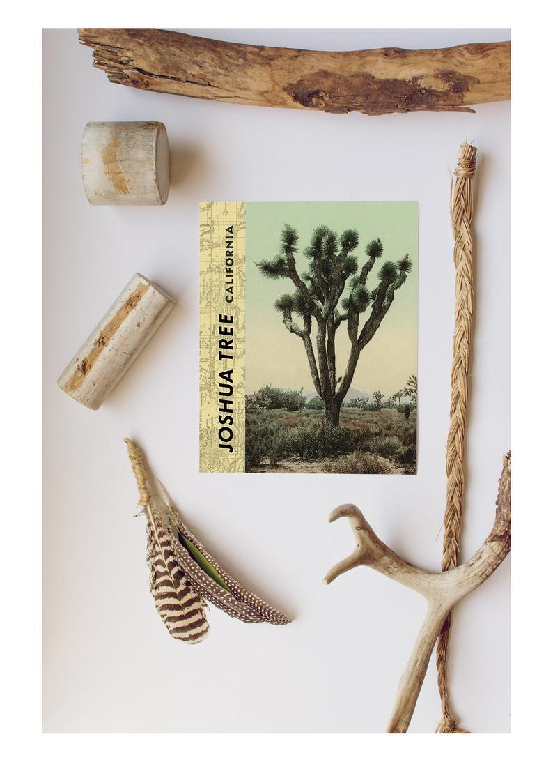 Vintage Joshua Tree Print, Desert Art, Vintage Desert, Vintage California, Cactus Print, Cactus Wall Art, Southwest Cactus, Antique Cactus For Tree Of Life Wall Decor By Red Barrel Studio (View 28 of 30)