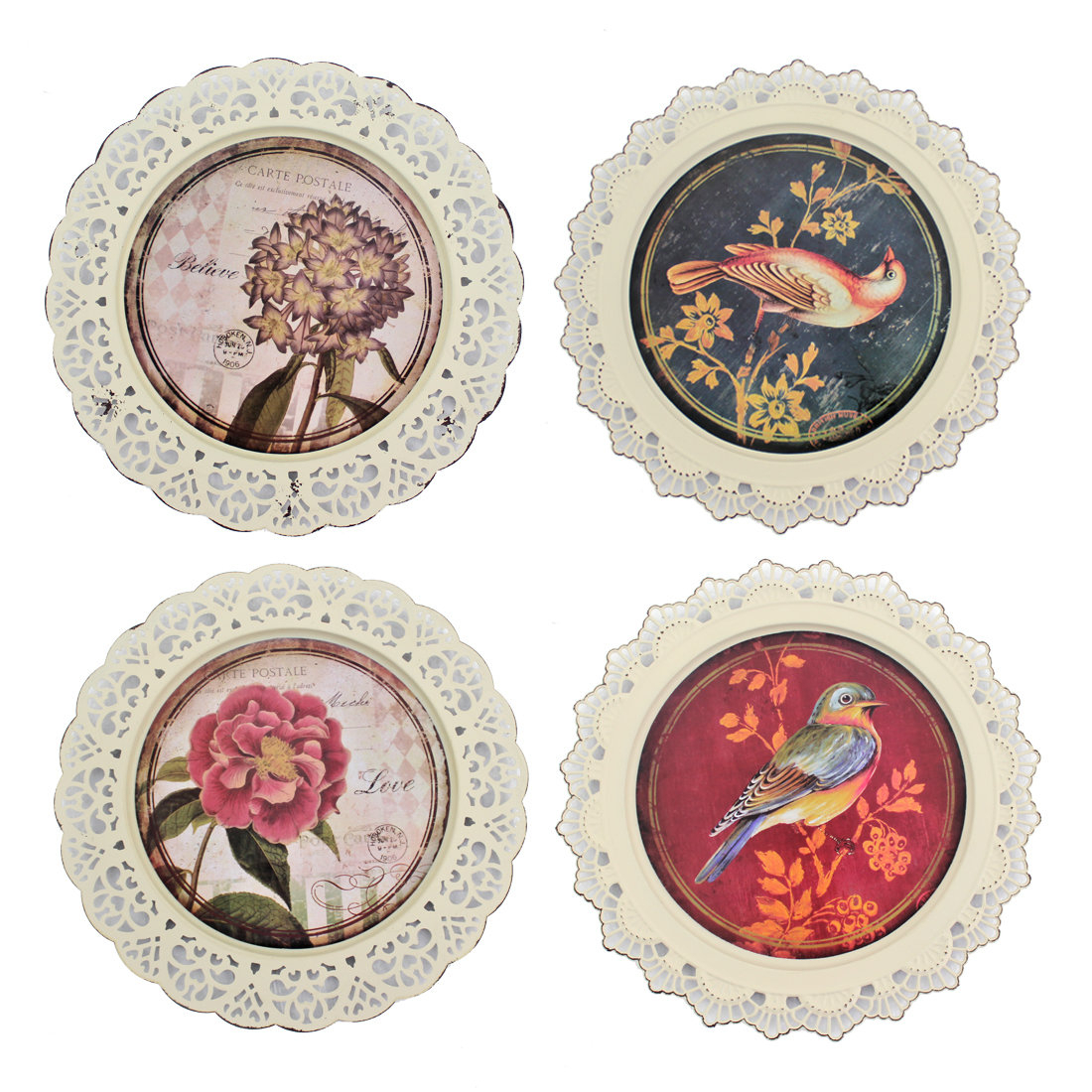 Vintage Metal Plate Wall Decor With Regard To Scattered Metal Italian Plates Wall Decor (View 16 of 30)