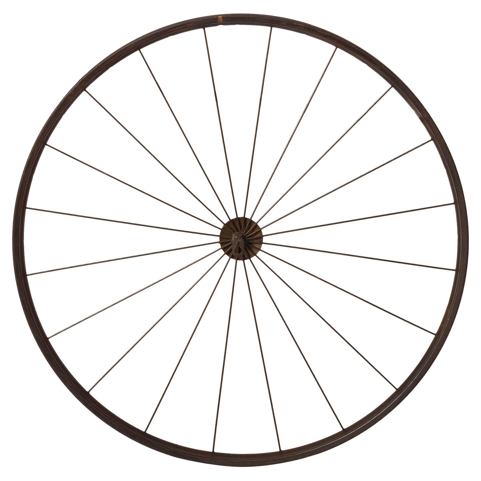 Vintage Wheel Photo Holder | Reuse Inspo | Hanging Picture intended for Millanocket Metal Wheel Photo Holder Wall Decor (Image 29 of 30)