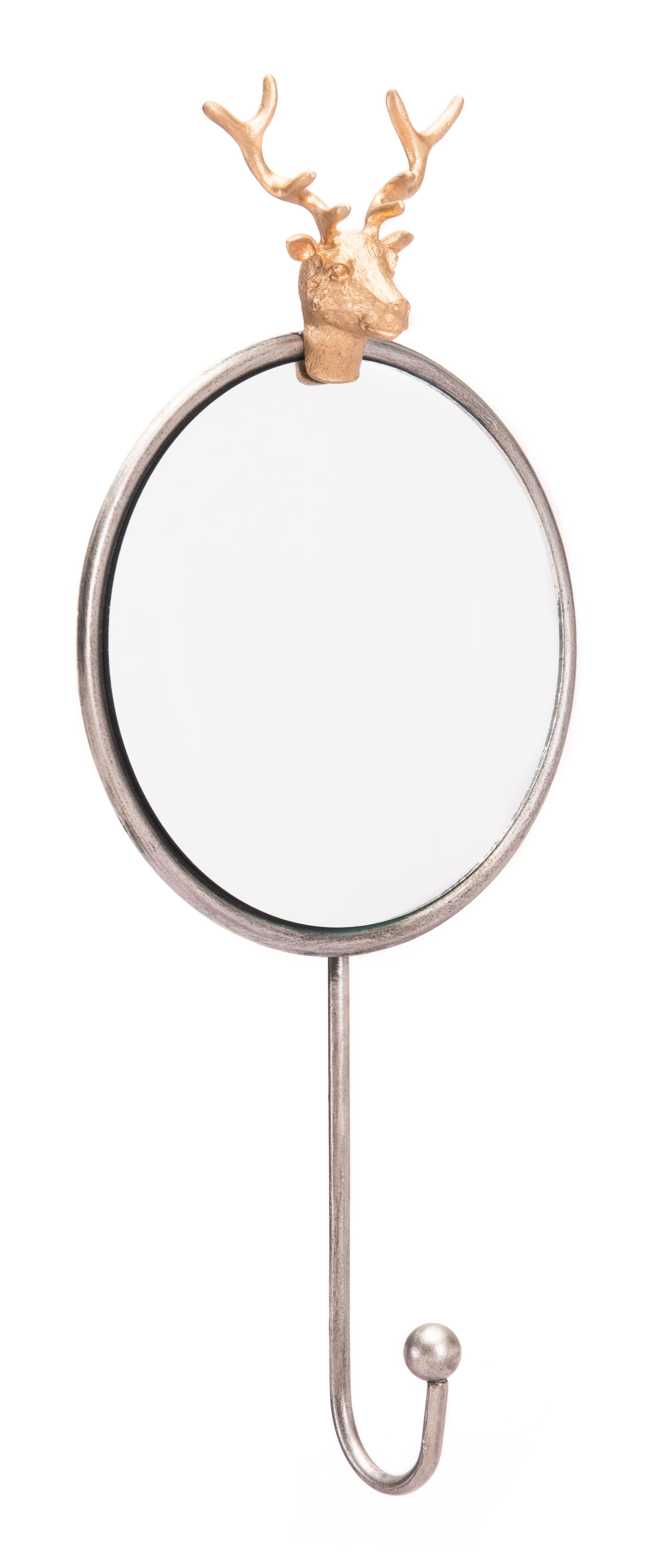 Vonville Antler Accent Mirror Pertaining To Rena Accent Mirrors (View 11 of 30)