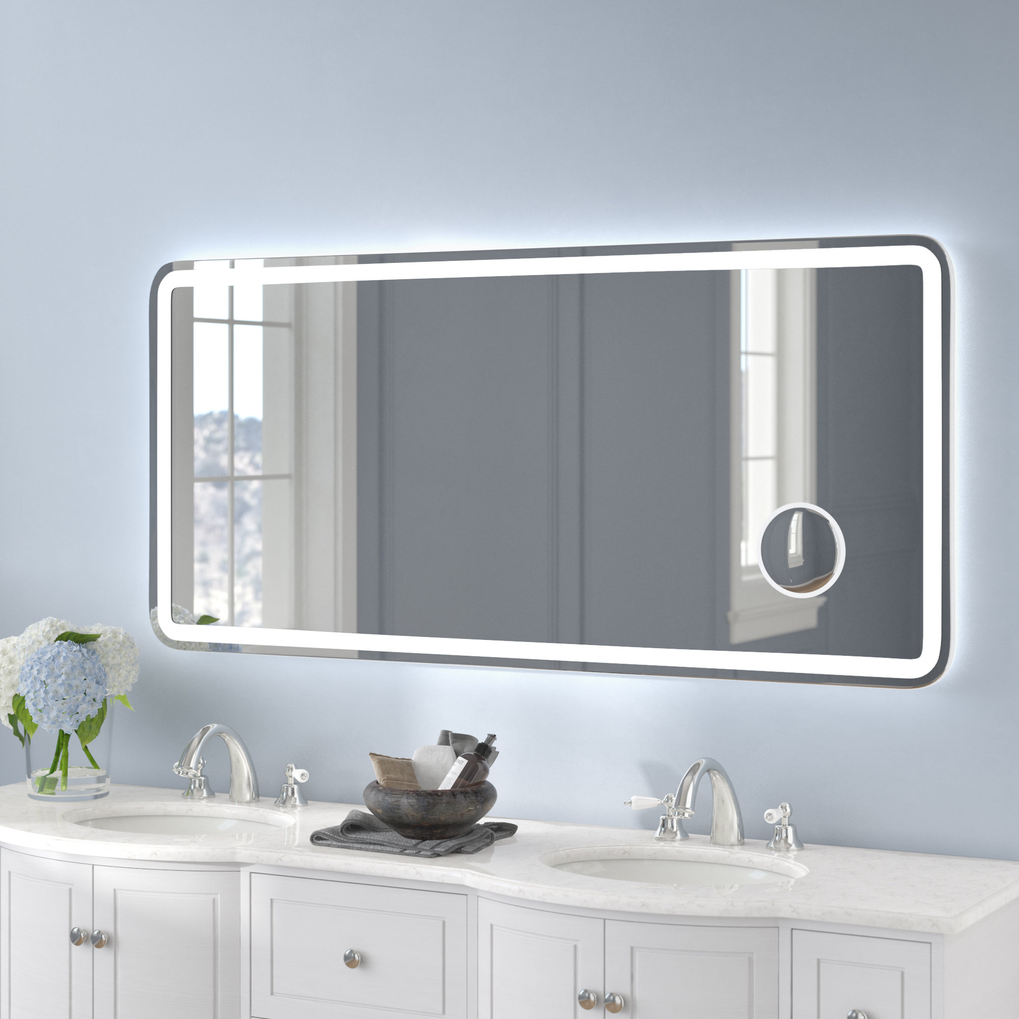 Wade Logan Mirrors You'll Love In 2019 | Wayfair Throughout Pennsburg Rectangle Wall Mirror By Wade Logan (View 4 of 30)