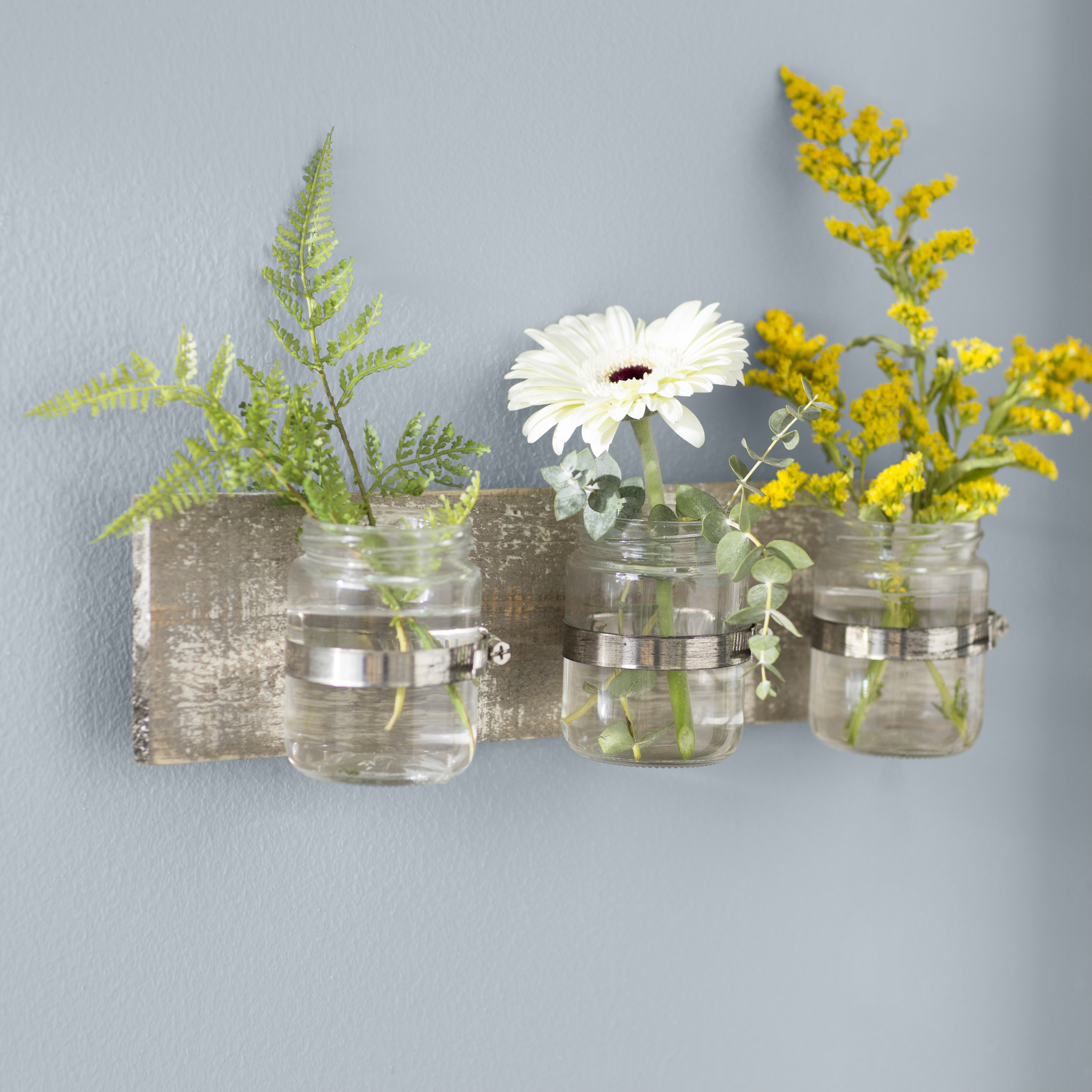 Wall Accents | Joss & Main Throughout Farm Metal Wall Rack And 3 Tin Pot With Hanger Wall Decor (View 18 of 30)