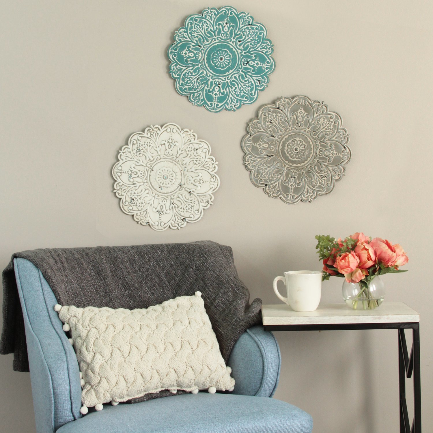 Wall Accents | Joss & Main throughout Small Medallion Wall Decor (Image 27 of 30)