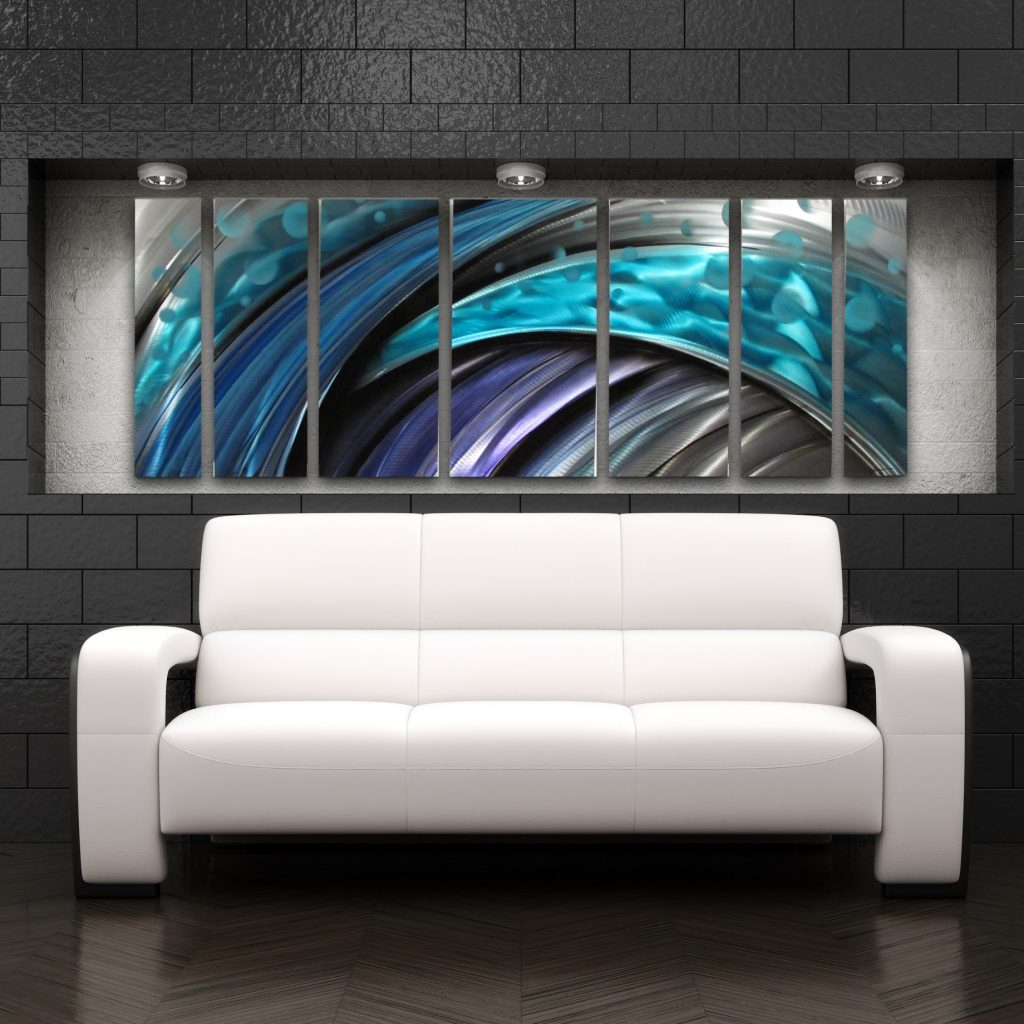 Wall Art Designs Horizontal Home Decor Narrow Long Canvas With Large Modern Industrial Wall Decor (Photo 29 of 30)