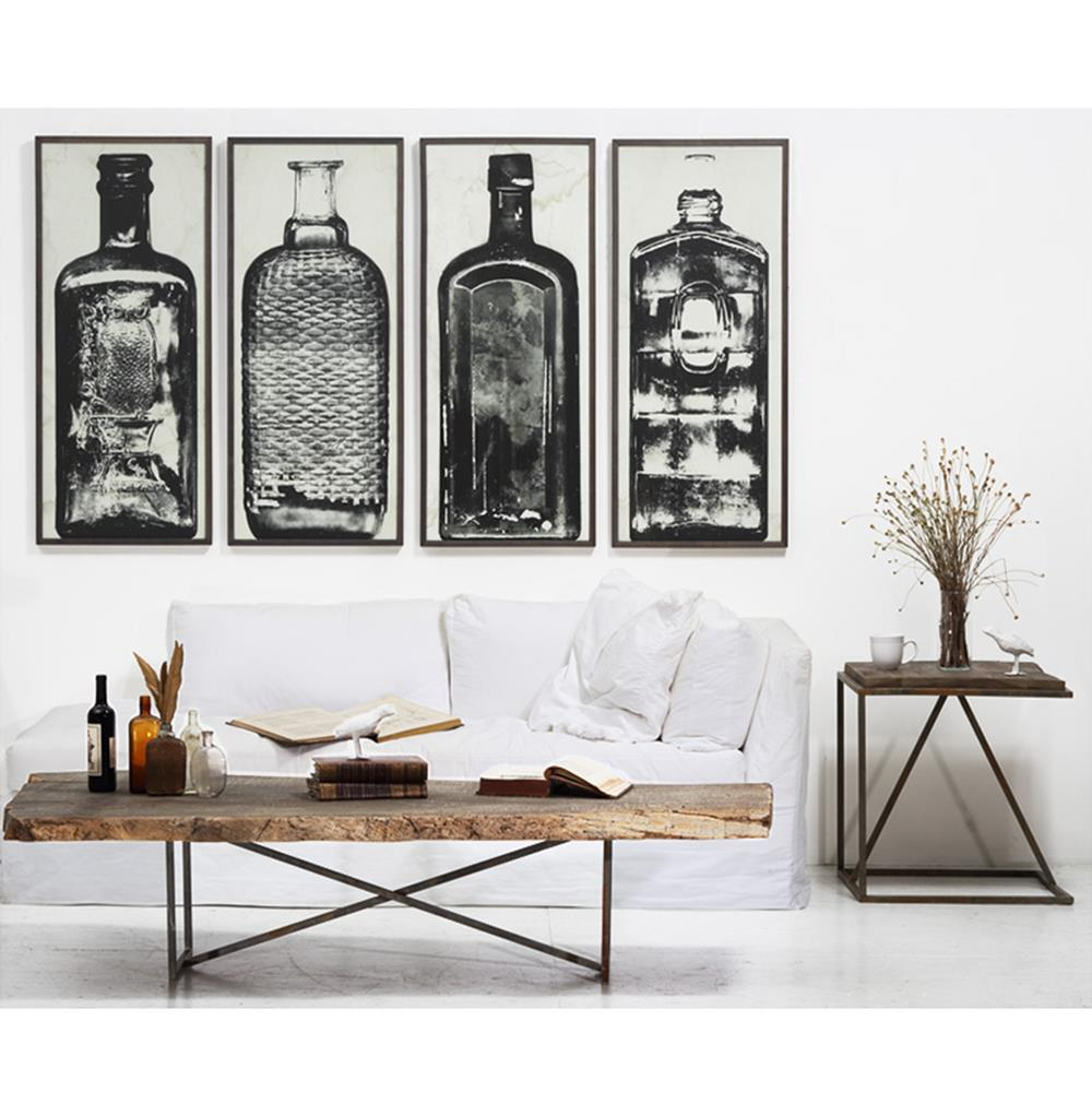 Wall Art Designs Industrial Bottle Sculpture Home Prints Intended For Large Modern Industrial Wall Decor (Photo 2 of 30)