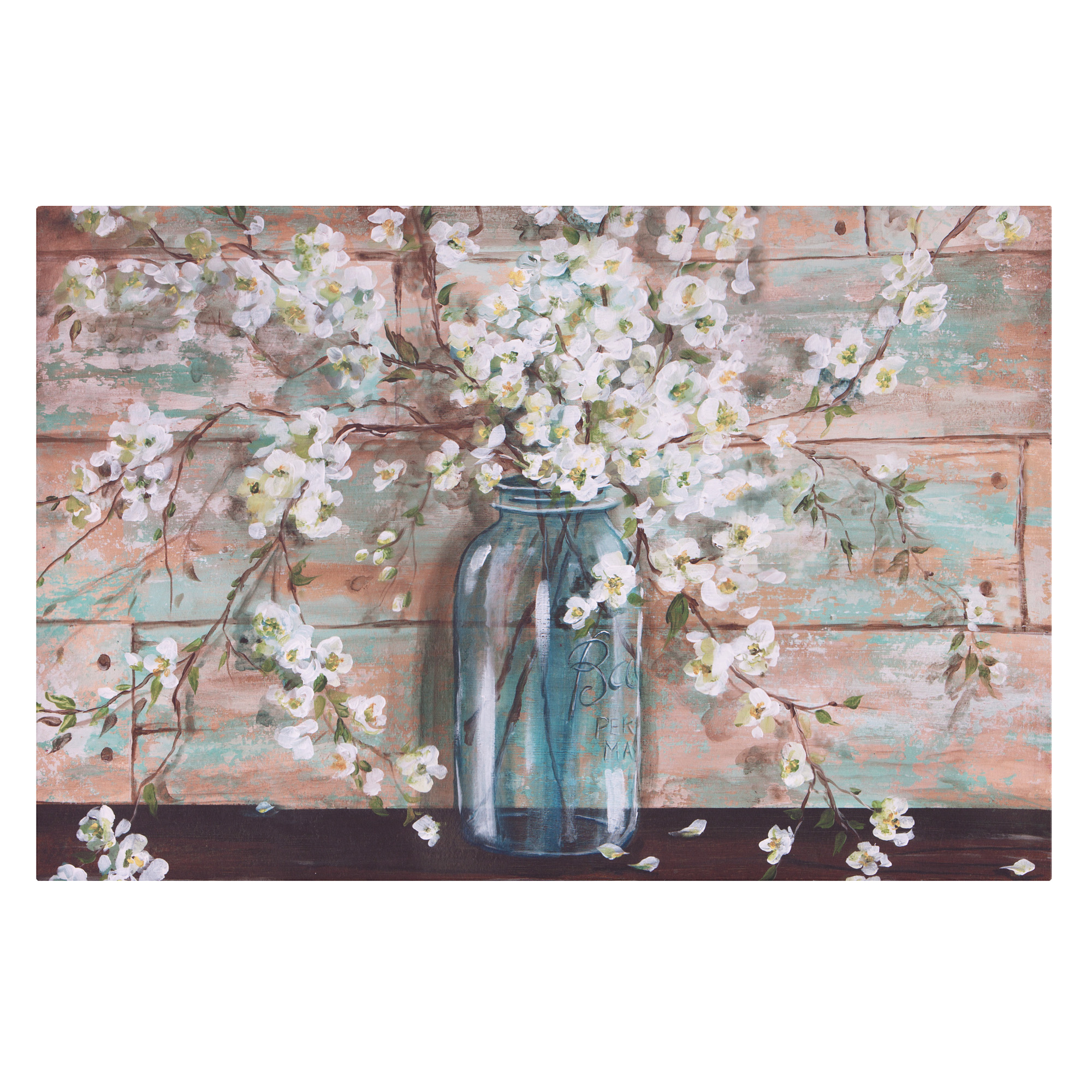 Wall Art – Walmart Within 2 Piece Panel Wood Wall Decor Sets (set Of 2) (View 10 of 30)
