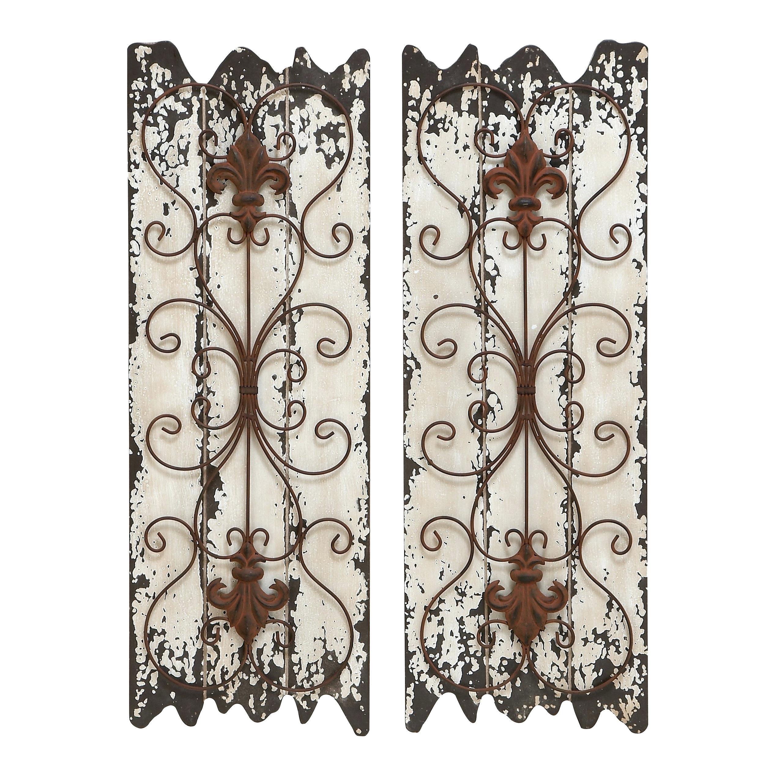 Wall Decor Sets Intended For 2 Piece Panel Wood Wall Decor Sets (set Of 2) (View 5 of 30)