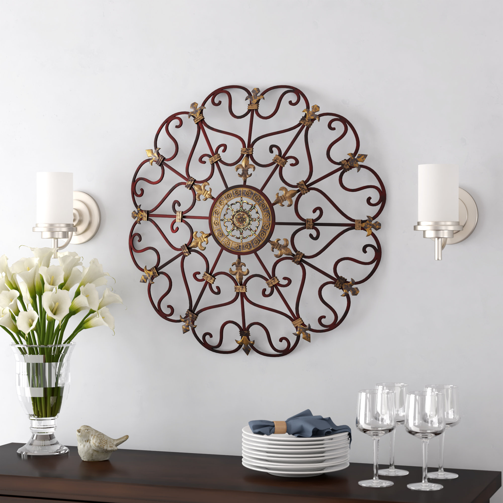 Wall Décor Throughout 1 Piece Ortie Panel Wall Decor (View 30 of 30)