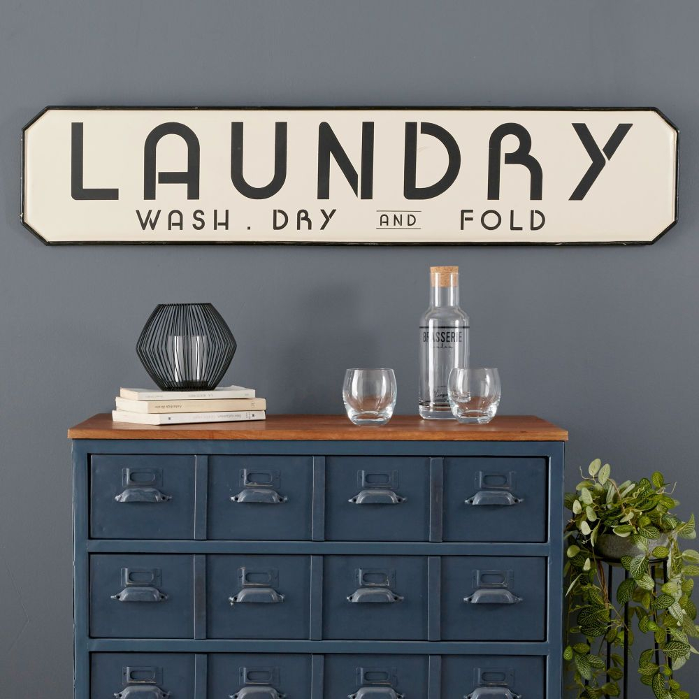 Wall Decor | #trending | Words On The Wall | Maisons Du Throughout Metal Laundry Room Wall Decor (View 8 of 30)