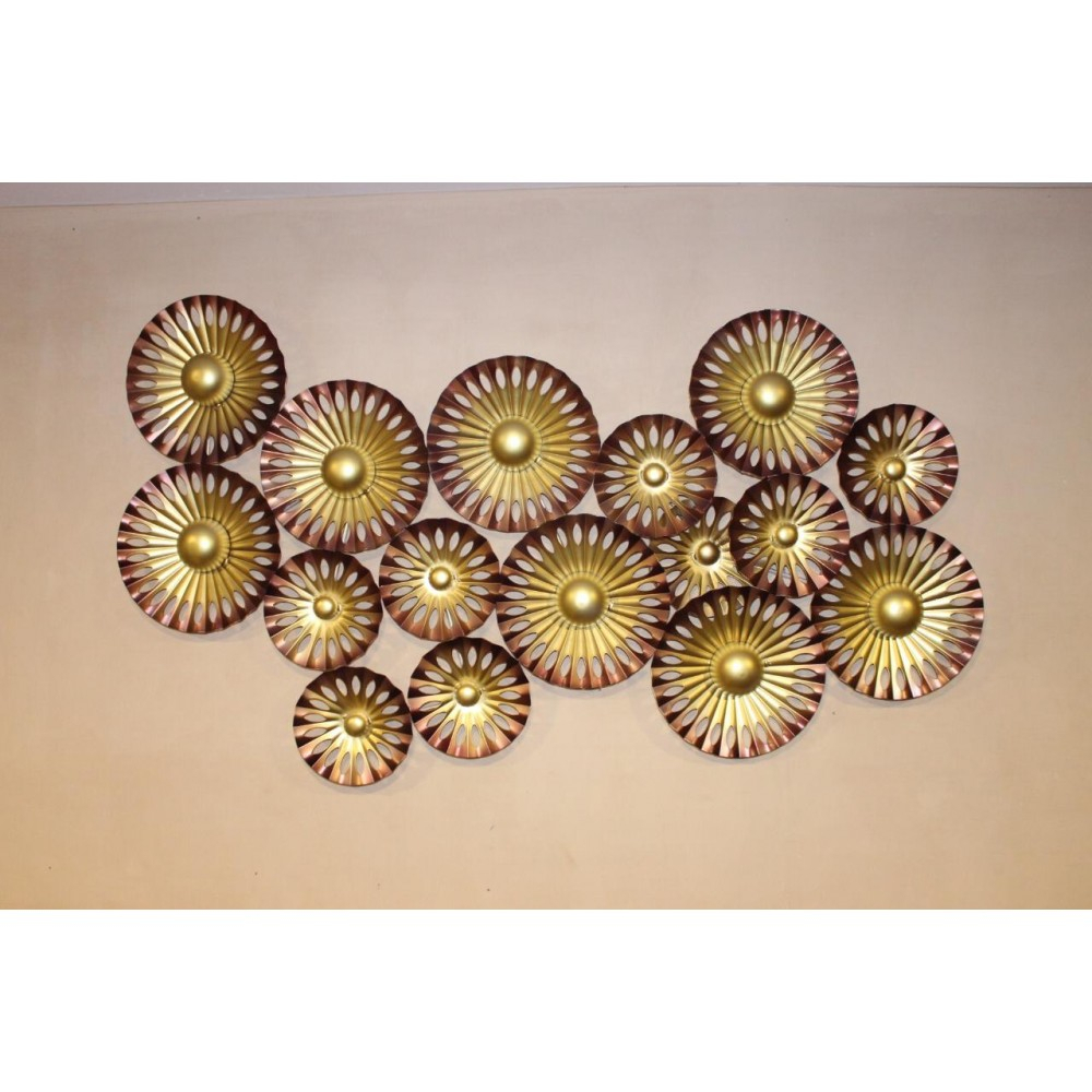 Wall Hanging| Buy Online Metal Craft |Home Decor with regard to Multi Plates Wall Decor (Image 30 of 30)