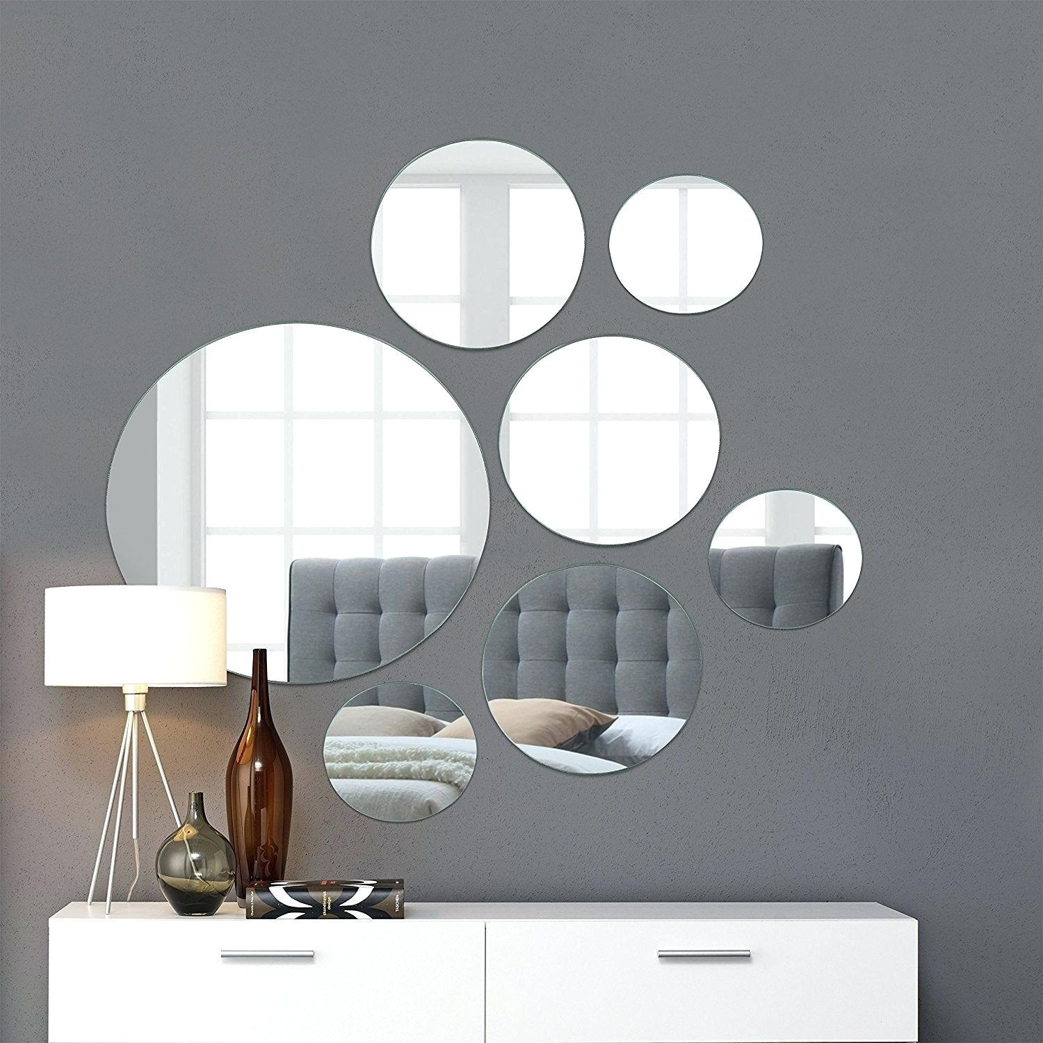Wall Mirror Set With 4 Piece Metal Wall Decor Sets (View 21 of 30)
