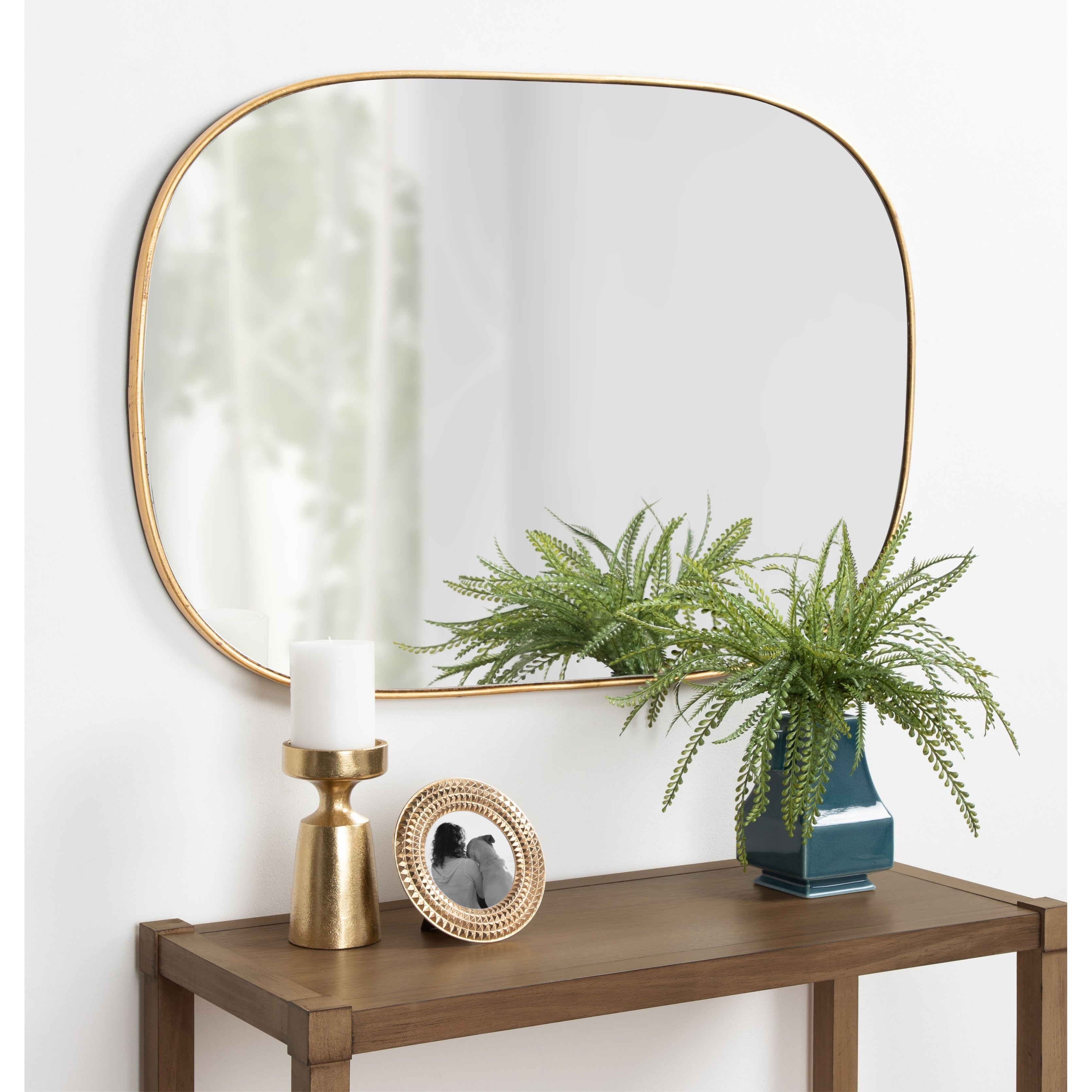 Wall Mirror   Shop Online At Overstock Regarding Austin Industrial Accent Mirrors (Image 27 of 30)
