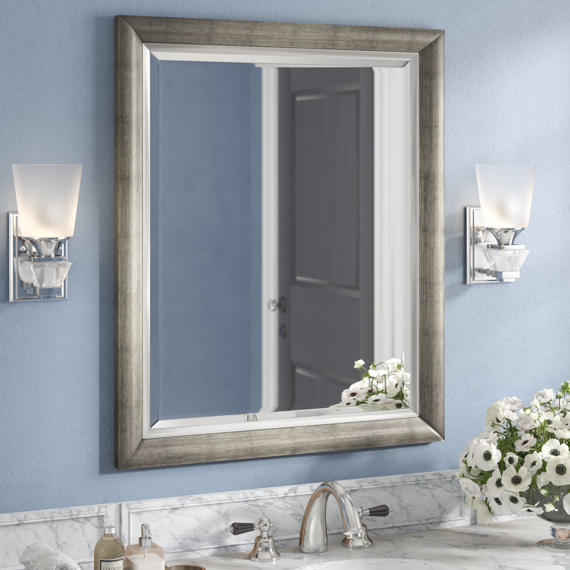 Wall Mirror With Regard To Epinal Shabby Elegance Wall Mirrors (View 29 of 30)