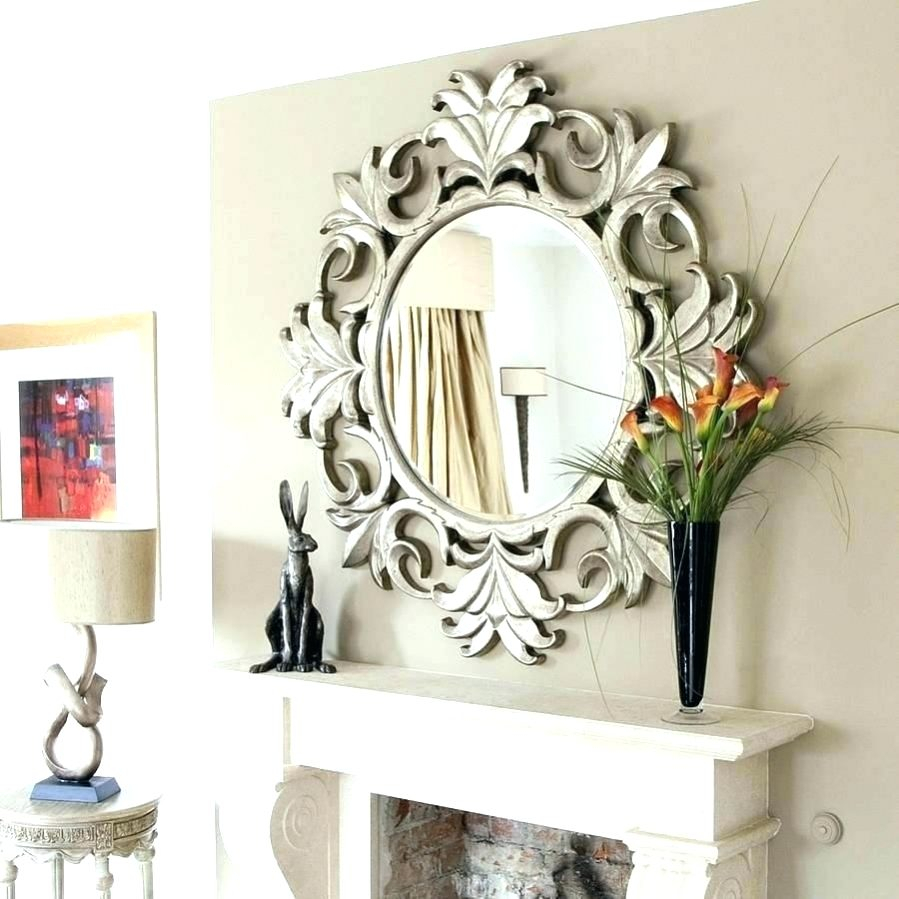Wall Mirrors Small Round Mirror Sets Piece Starburst inside 2 Piece Starburst Wall Decor Sets (Image 29 of 30)