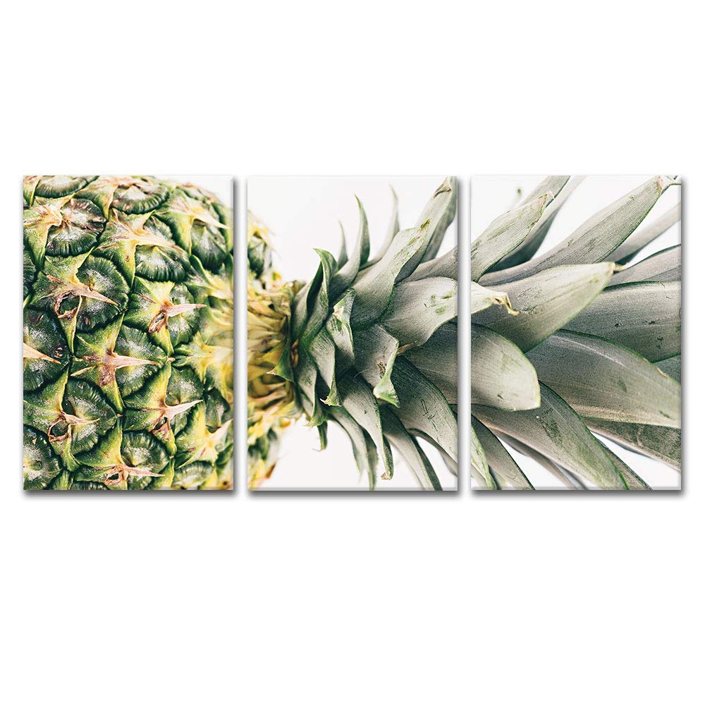 """Wall26 – 3 Panel Pineapple Gallery – Canvas Art Wall Decor – 16""""x24"""" X 3 Panels Within Pineapple Wall Decor (View 17 of 30)"""