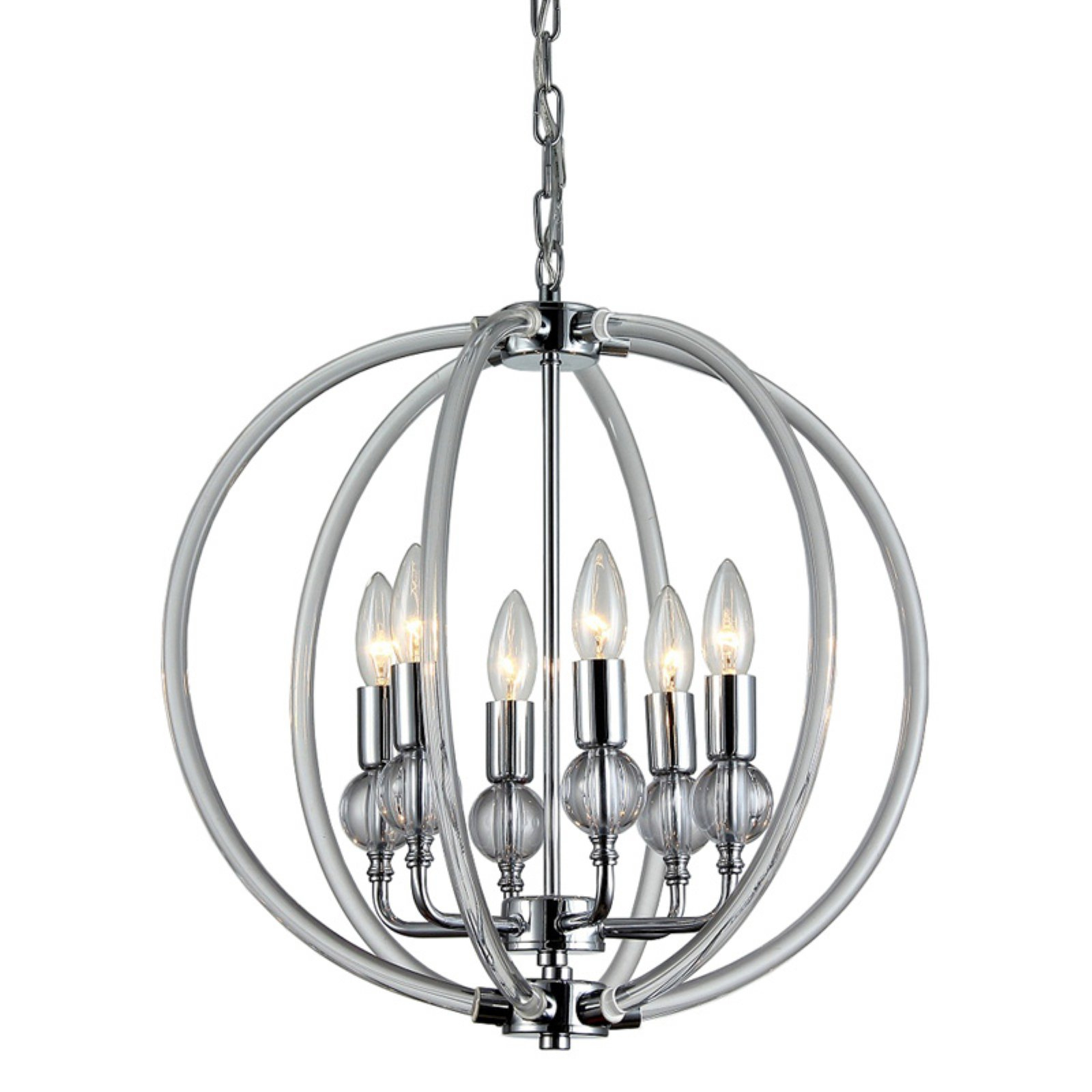 Warehouse Of Tiffany Cage Globe Chandelier | Products In Pertaining To Hendry 4 Light Globe Chandeliers (View 11 of 30)
