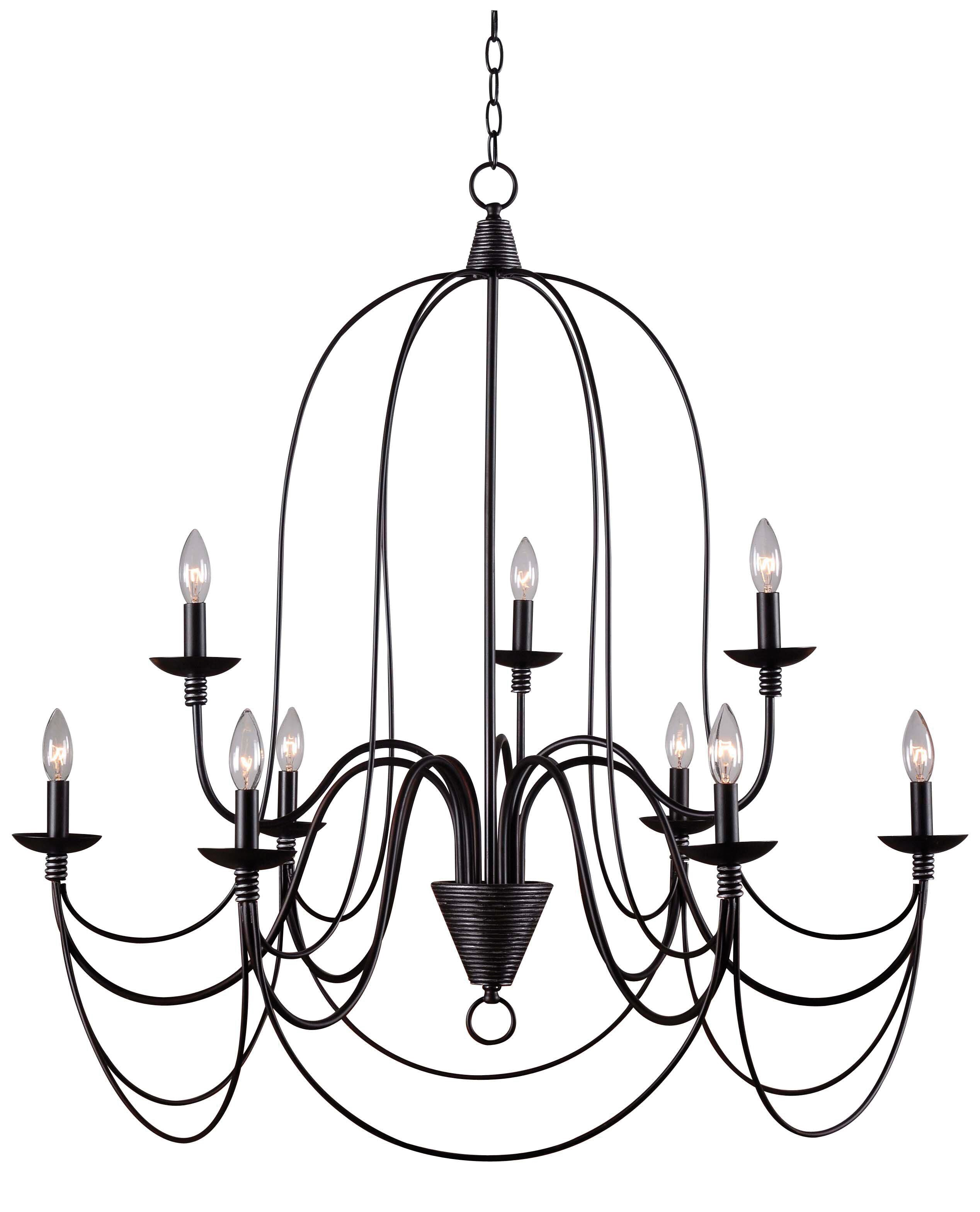 Watford 9-Light Candle Style Chandelier In 2019 | Saltbox with regard to Watford 9-Light Candle Style Chandeliers (Image 26 of 30)