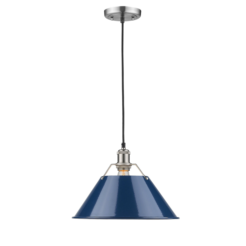Weatherford 1 Light Single Cone Pendant Regarding Nadeau 1 Light Single Cone Pendants (View 13 of 30)