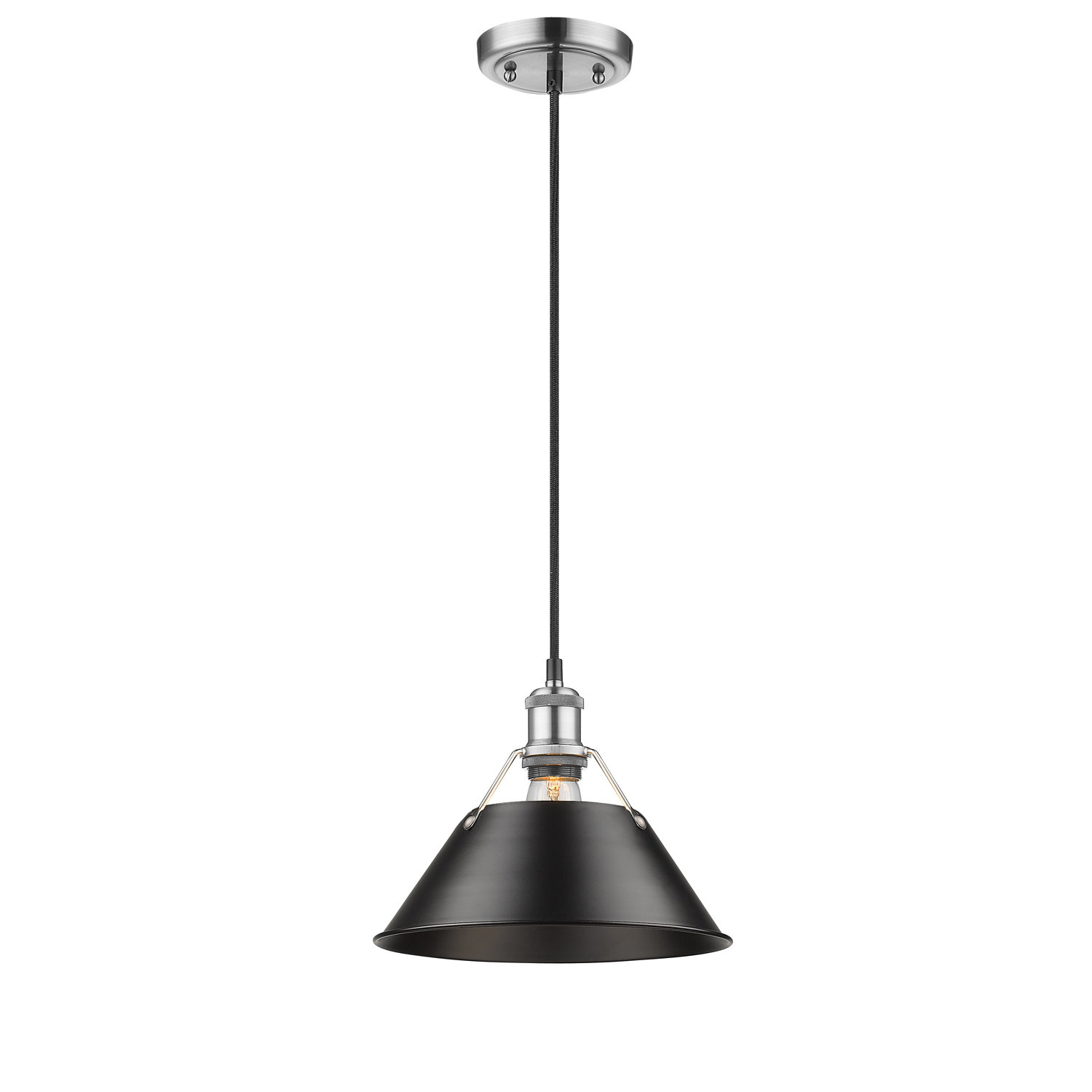 Weatherford 1 Light Single Cone Pendant With Regard To Nadeau 1 Light Single Cone Pendants (View 15 of 30)
