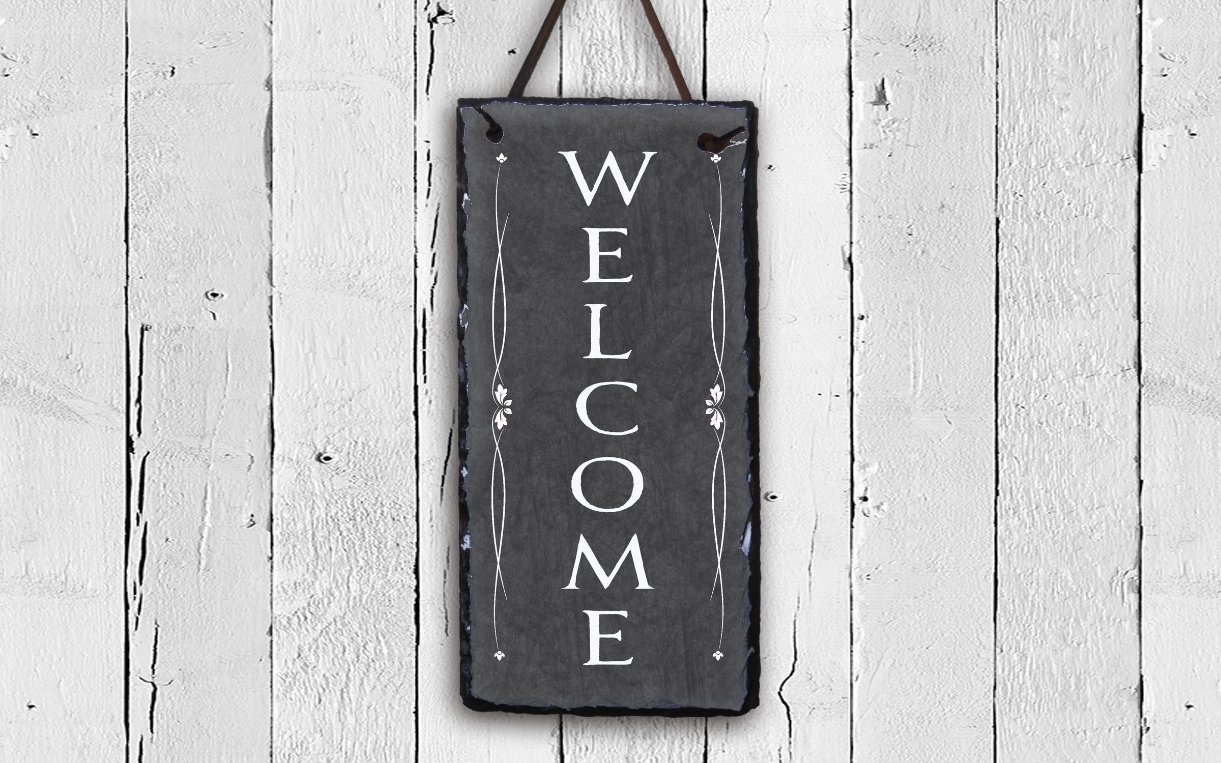 "Welcome 1-Line Wall Decor for In-A-Word ""welcome"" Wall Decor By Fireside Home (Image 27 of 30)"