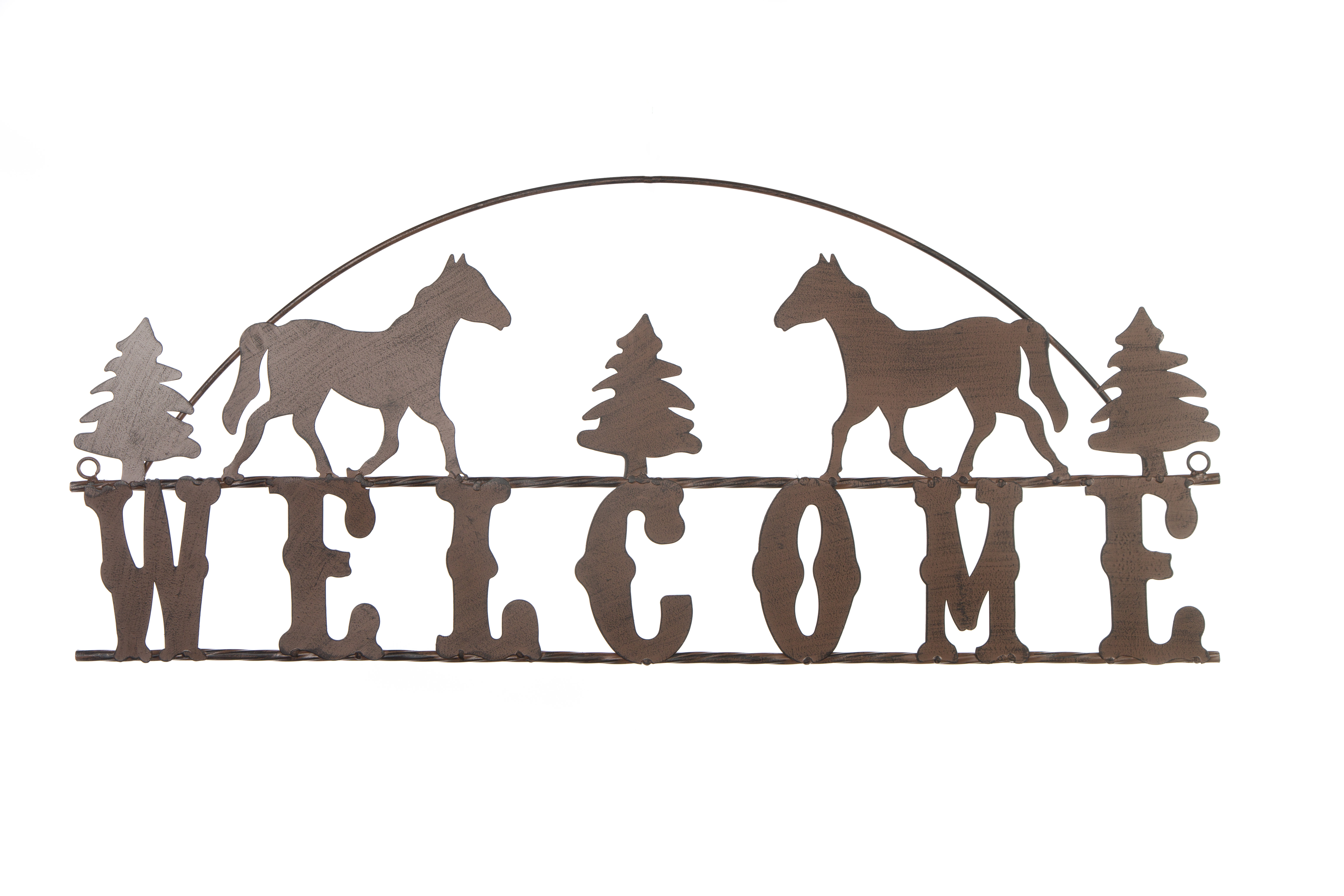 Welcome Sign Wall Décor pertaining to Tree Welcome Sign Wall Decor (Image 22 of 30)