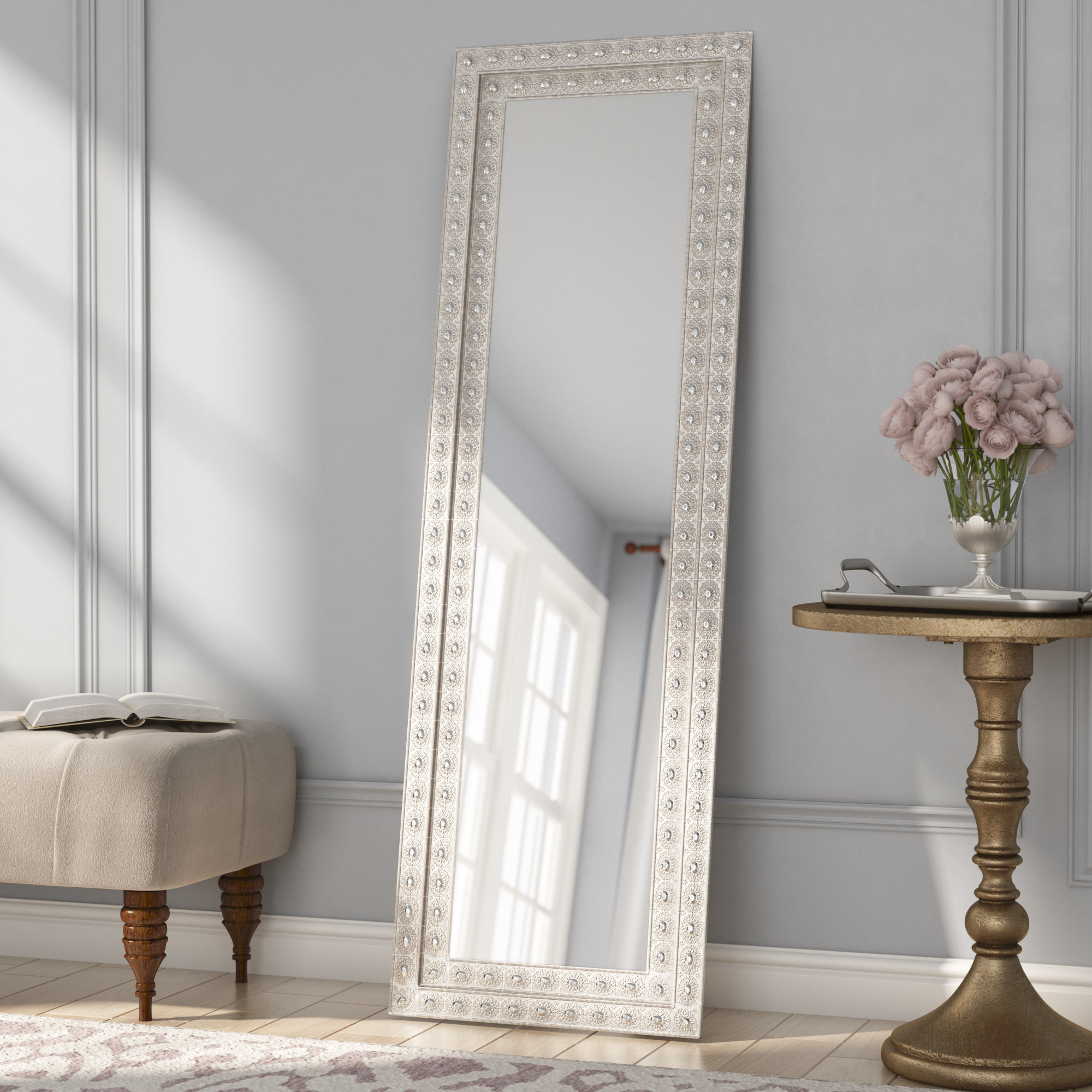 Western Mirror | Wayfair With Regard To Handcrafted Farmhouse Full Length Mirrors (View 29 of 30)