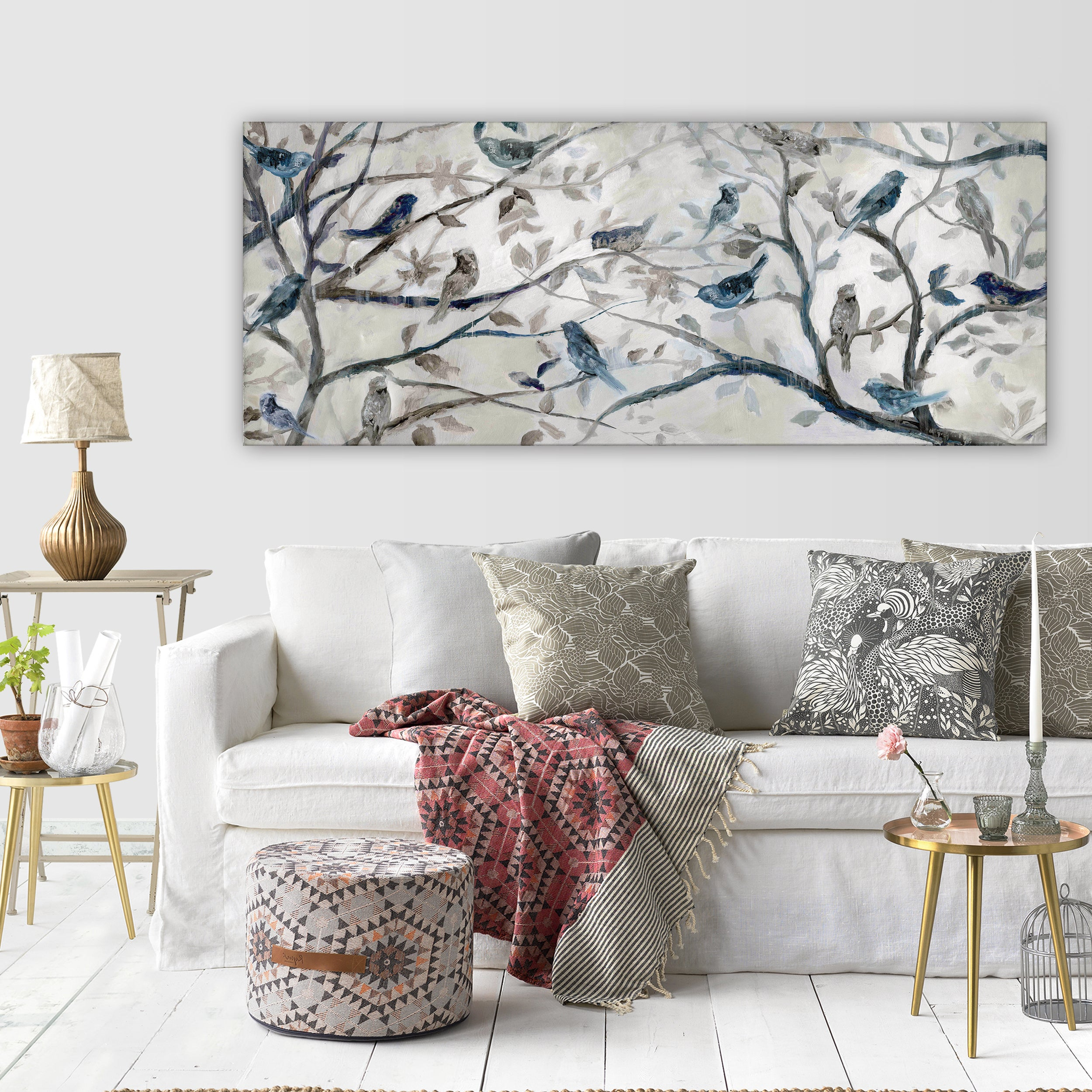 Wexford Home 'morning Chorus' Gallery Wrapped Canvas Wall Art Within Wall Decor By Charlton Home (View 15 of 30)