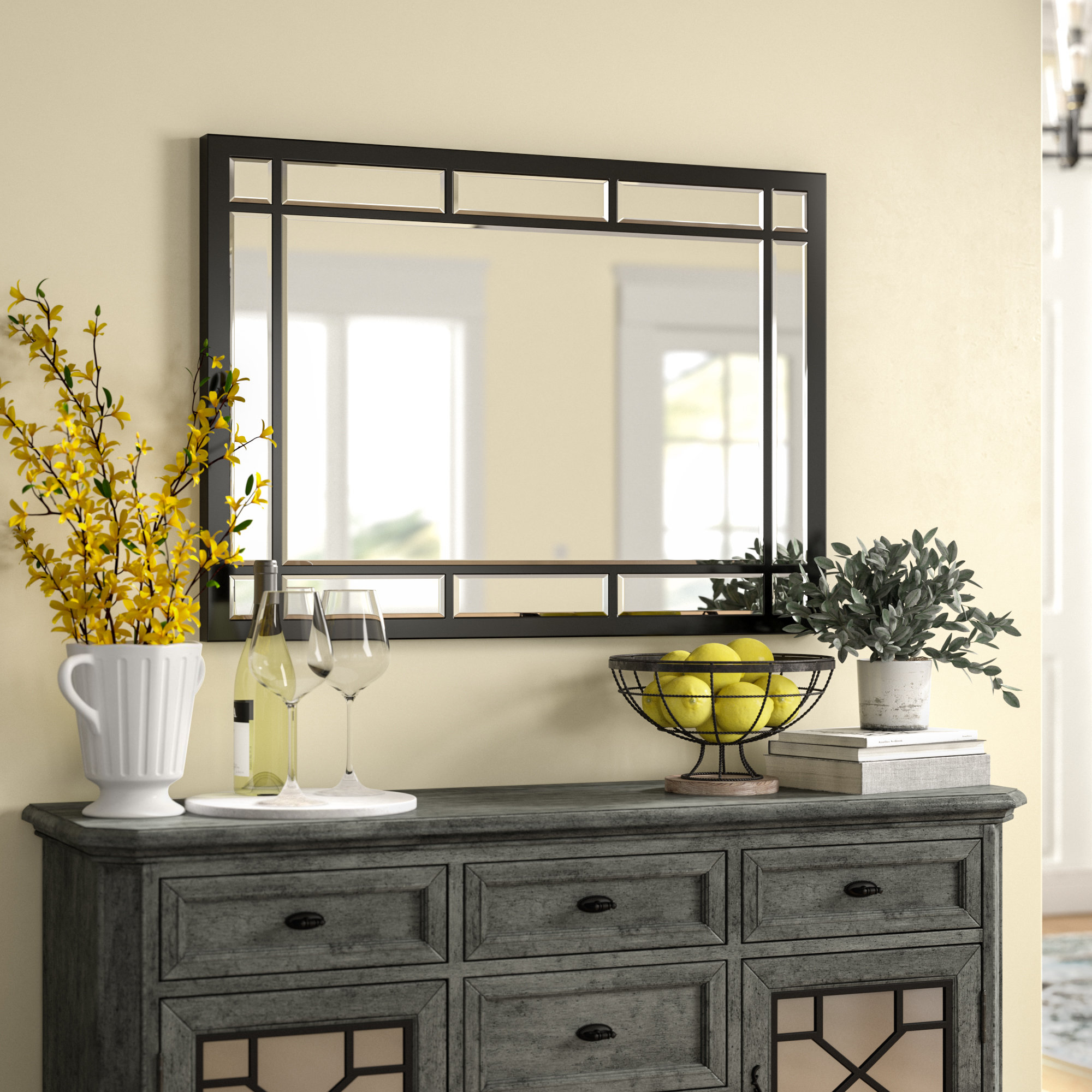 Whalen Traditional/modern And Contemporary Accent Mirror Throughout Hub Modern And Contemporary Accent Mirrors (View 30 of 30)
